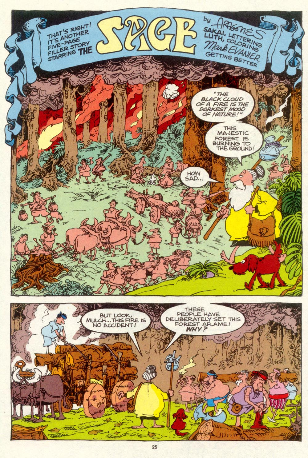 Read online Sergio Aragonés Groo the Wanderer comic -  Issue #93 - 26
