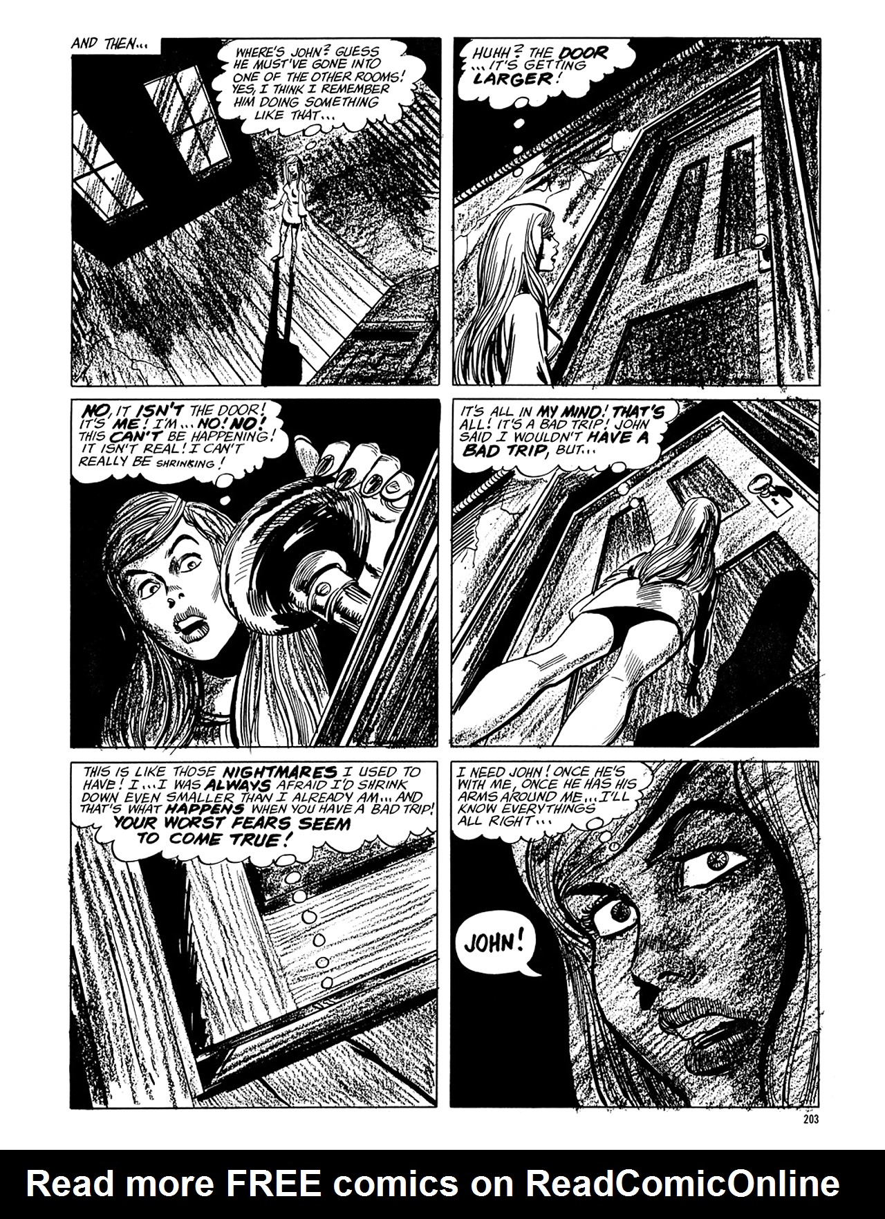 Read online Eerie Archives comic -  Issue # TPB 6 - 203