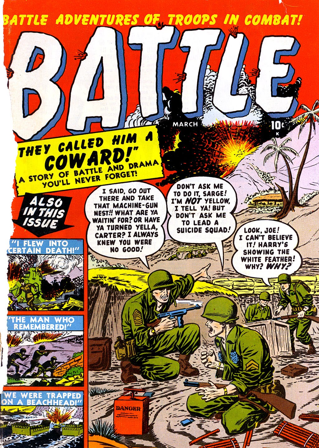 Battle issue 1 - Page 1