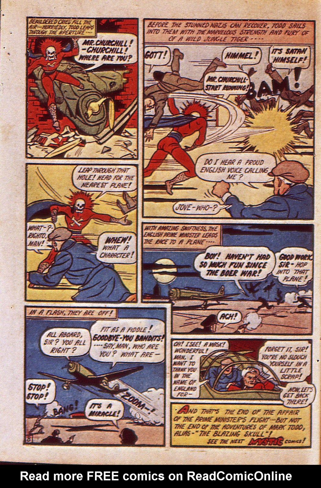 Mystic Comics (1940) issue 6 - Page 67