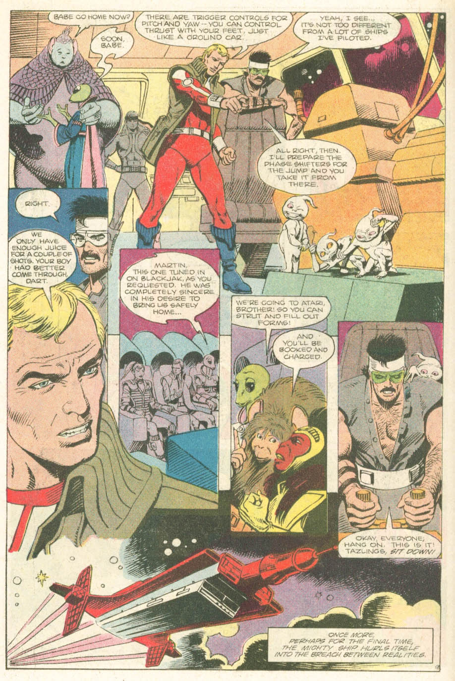 Read online Atari Force (1984) comic -  Issue #18 - 15