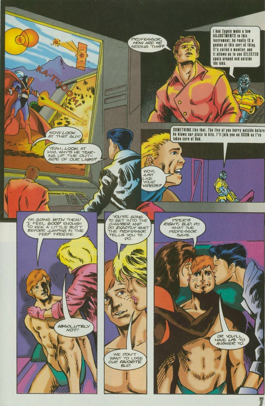 Read online Ex-Mutants comic -  Issue #11 - 9