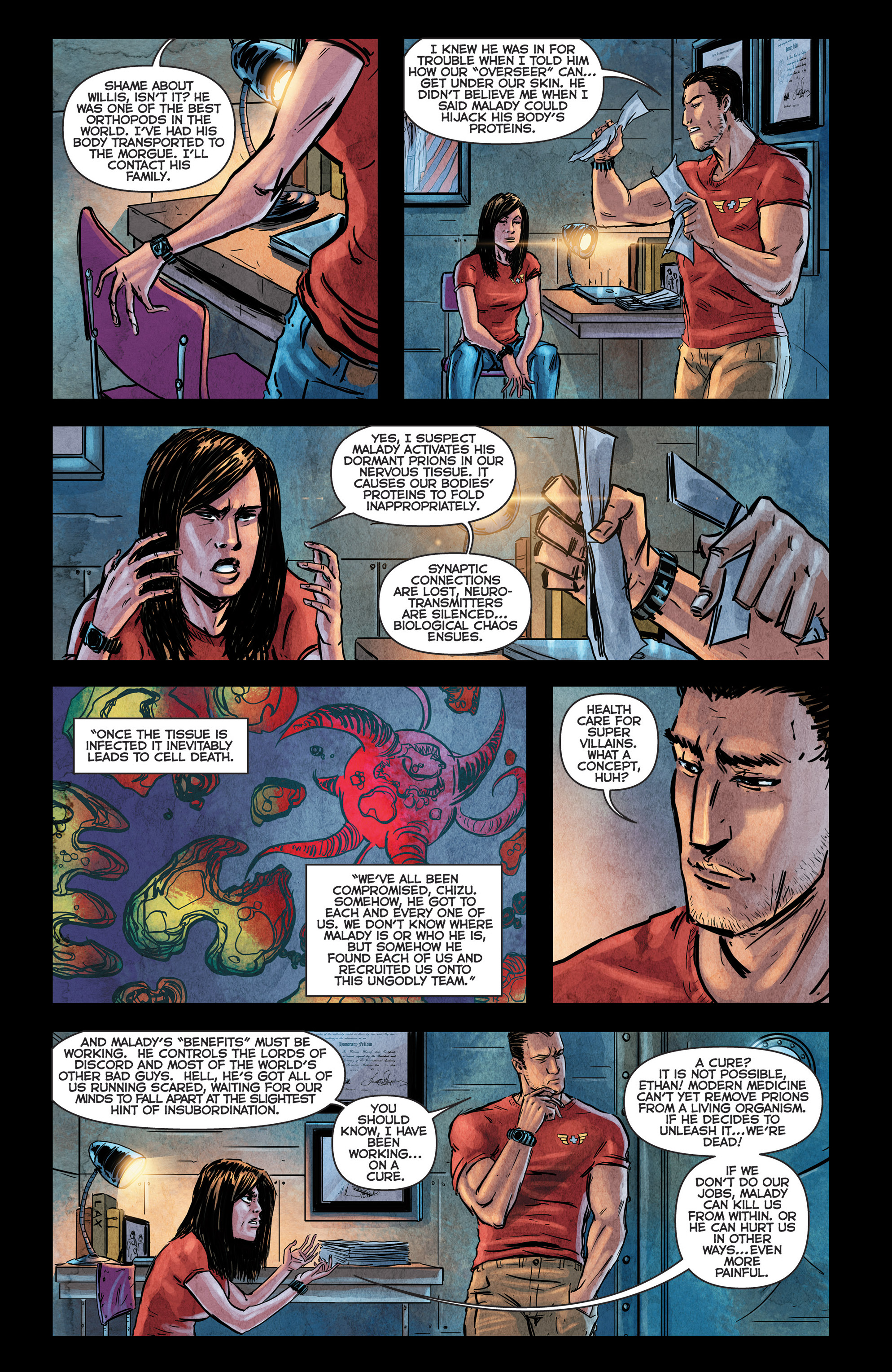 Read online Medisin comic -  Issue #1 - 16
