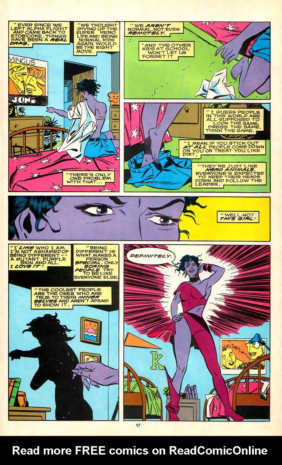 Read online Alpha Flight (1983) comic -  Issue #81 - 14