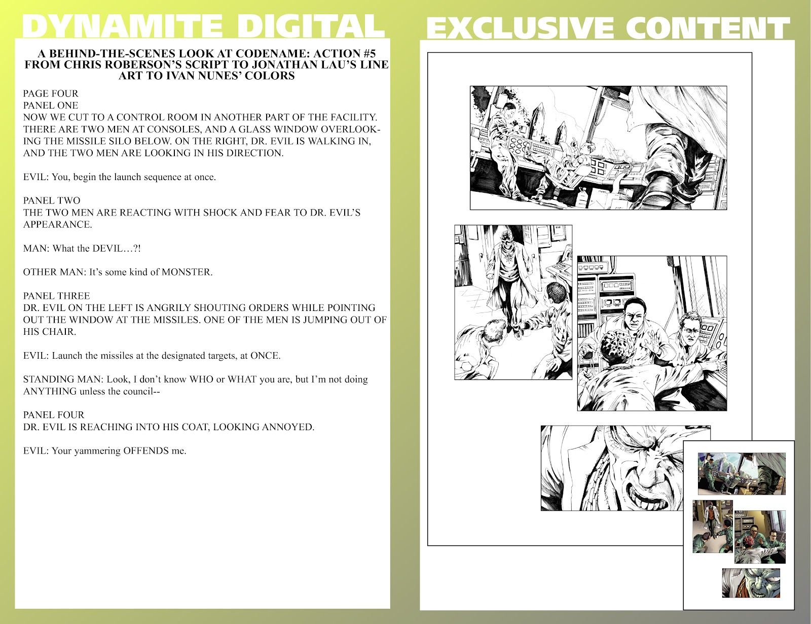 Read online Codename: Action comic -  Issue #5 - 31