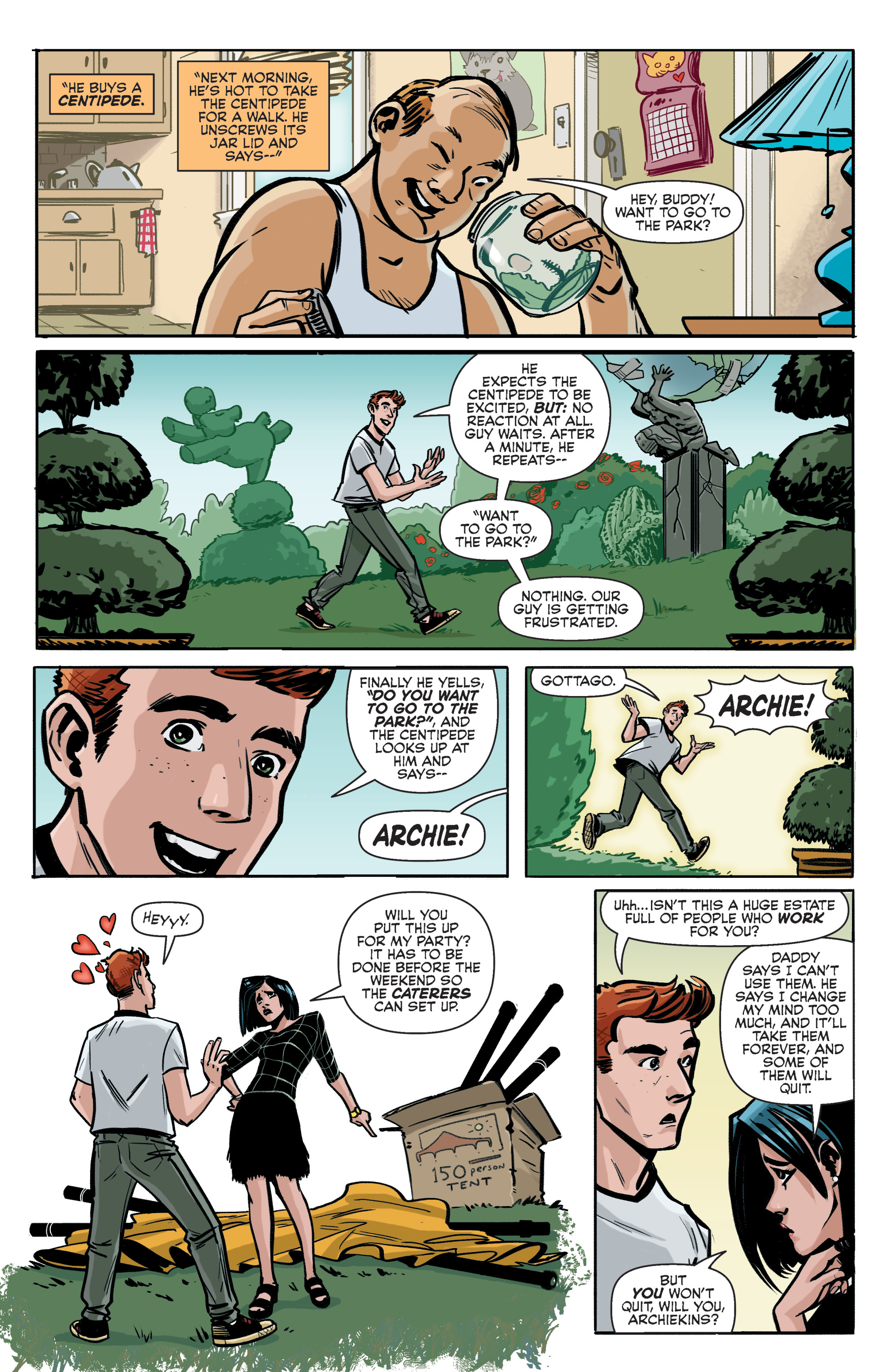 Read online Archie (2015) comic -  Issue #5 - 5