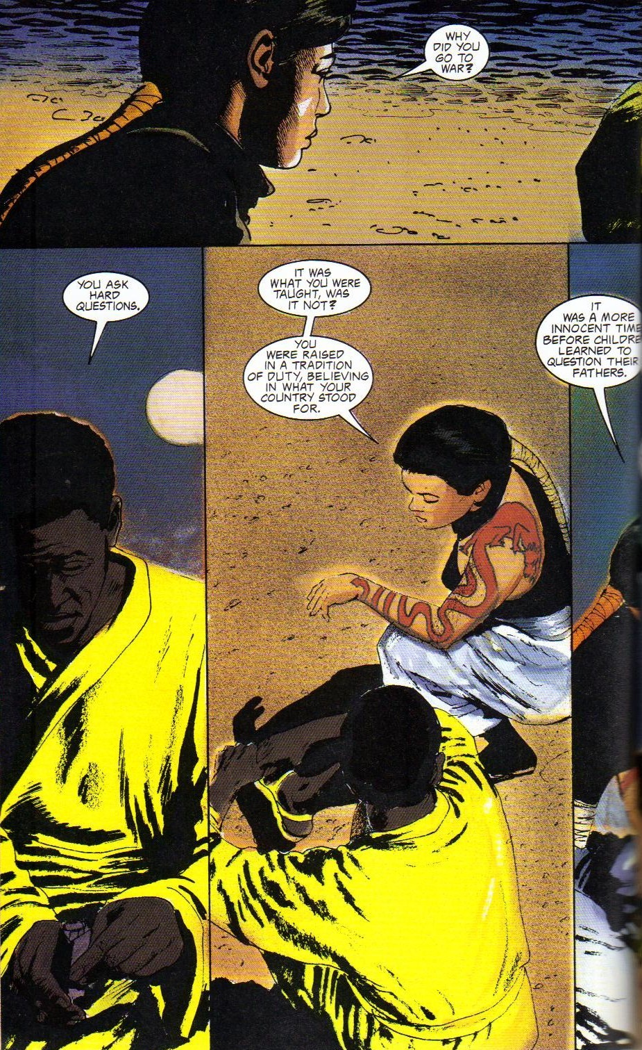 Read online Shado: Song of the Dragon comic -  Issue #4 - 14