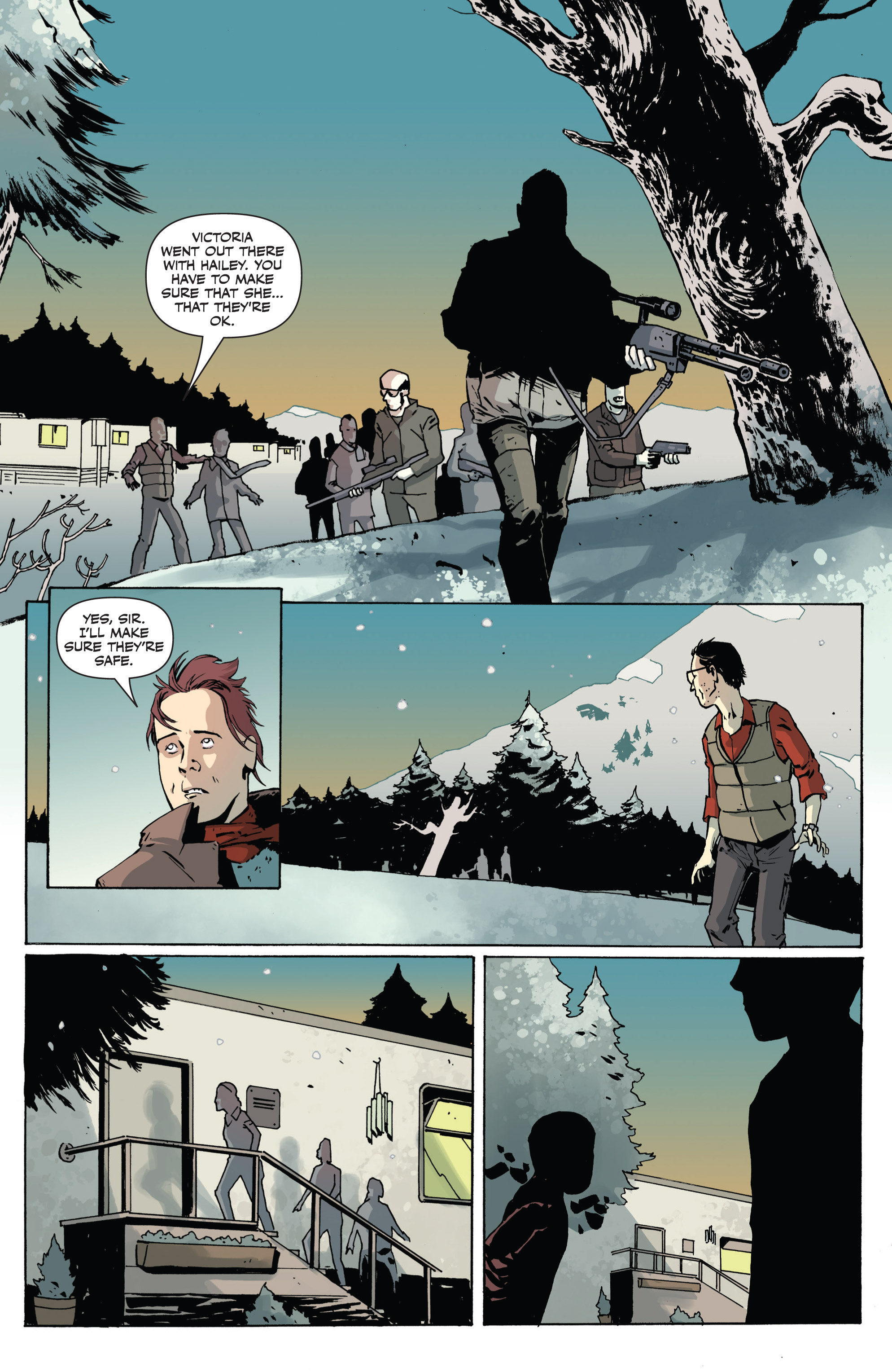 Read online Sheltered comic -  Issue #1 - 16