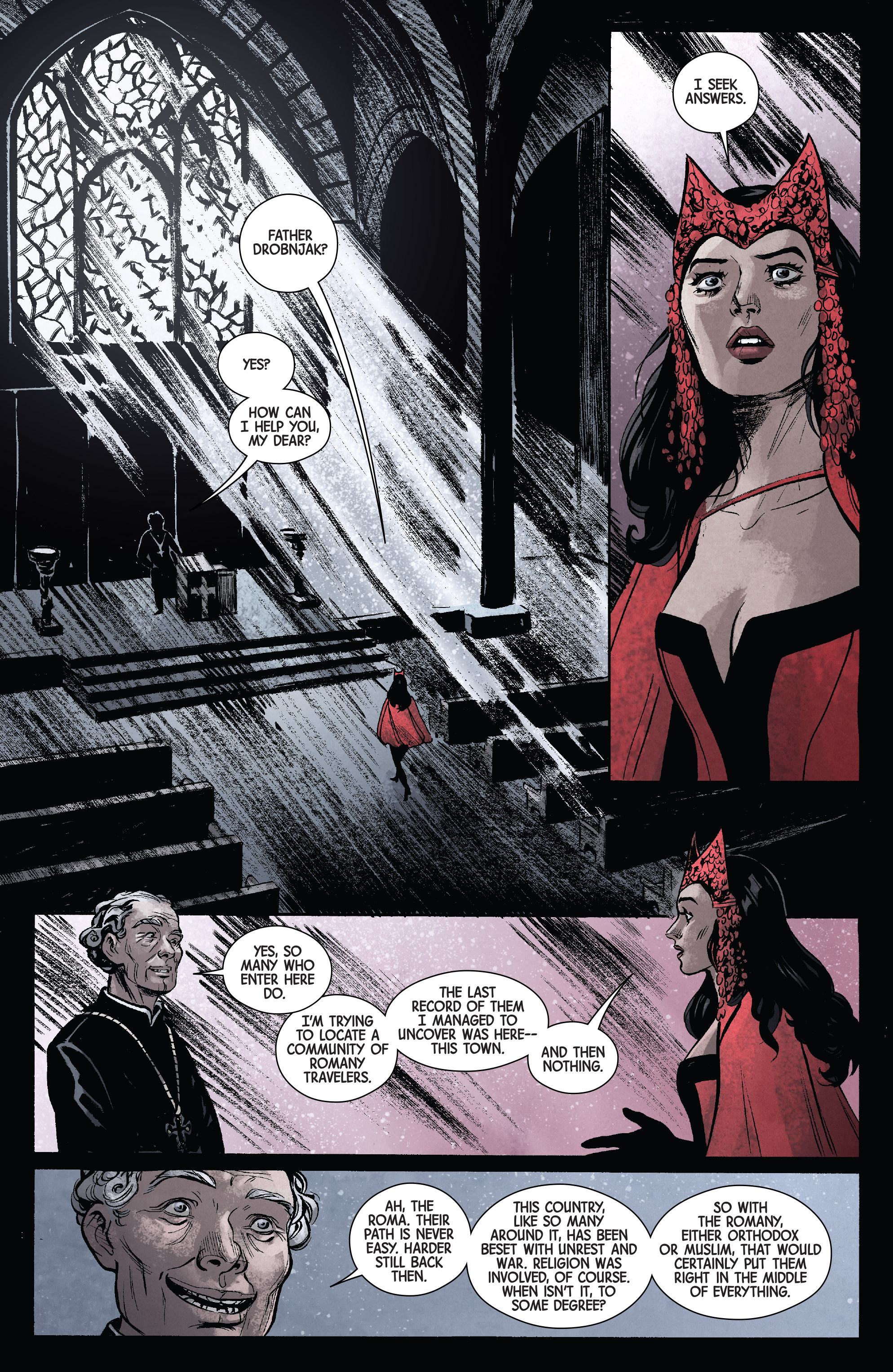 Read online Scarlet Witch (2016) comic -  Issue #11 - 4