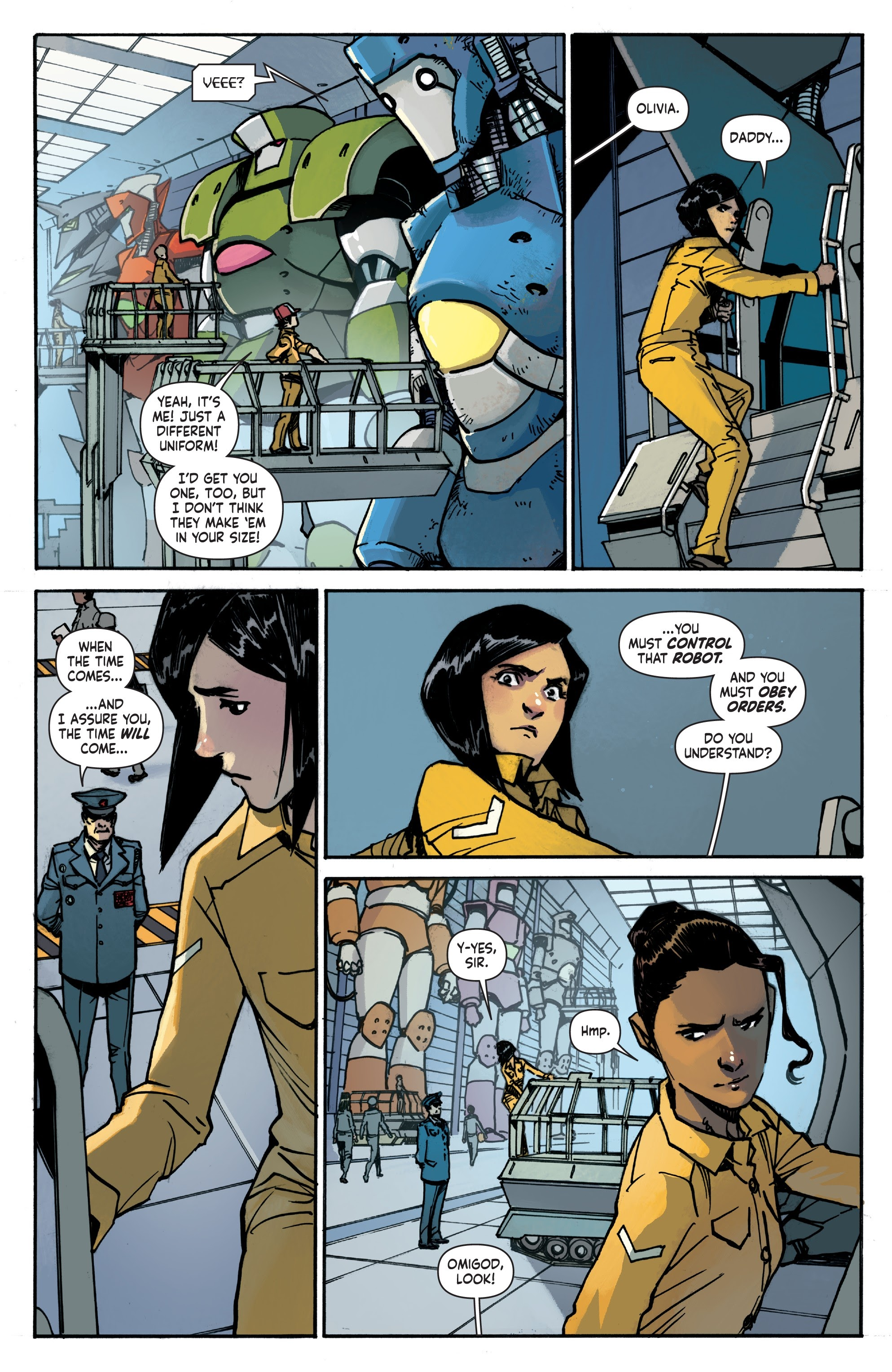 Mech Cadet Yu #_TPB_2 #15 - English 11