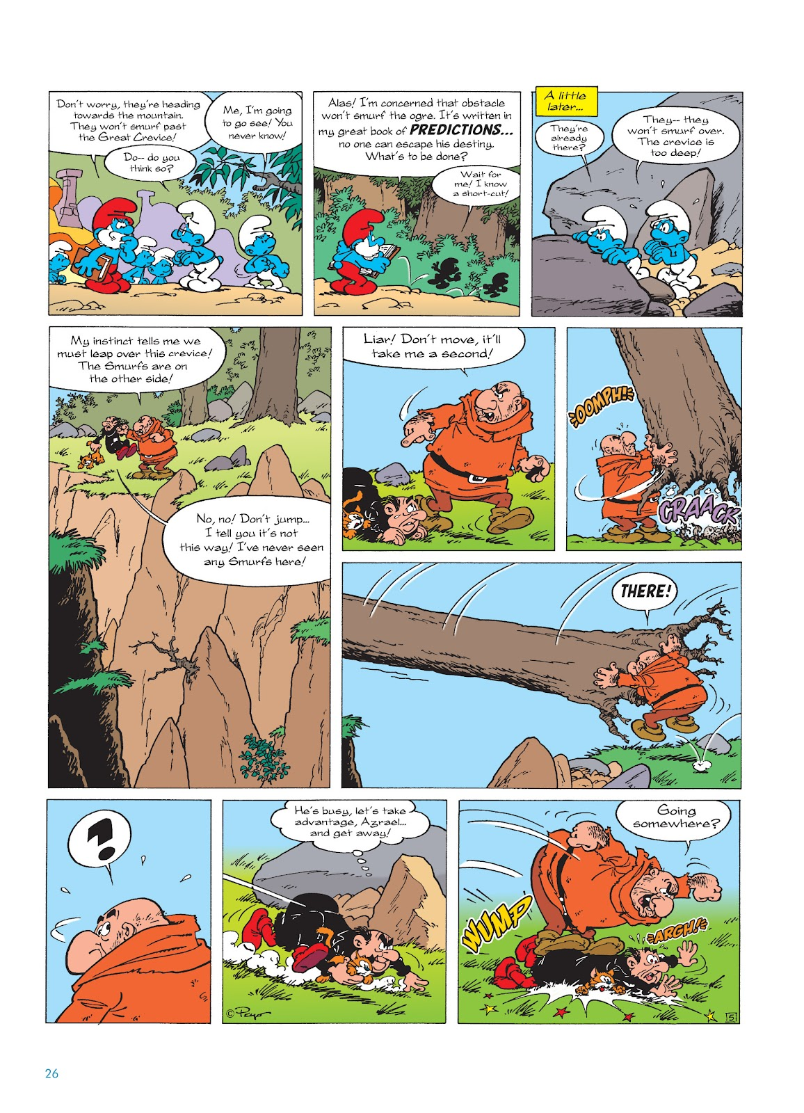 Read online The Smurfs comic -  Issue #17 - 26