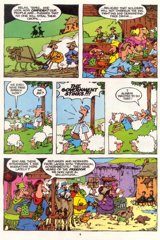 Read online Sergio Aragonés Groo the Wanderer comic -  Issue #109 - 8