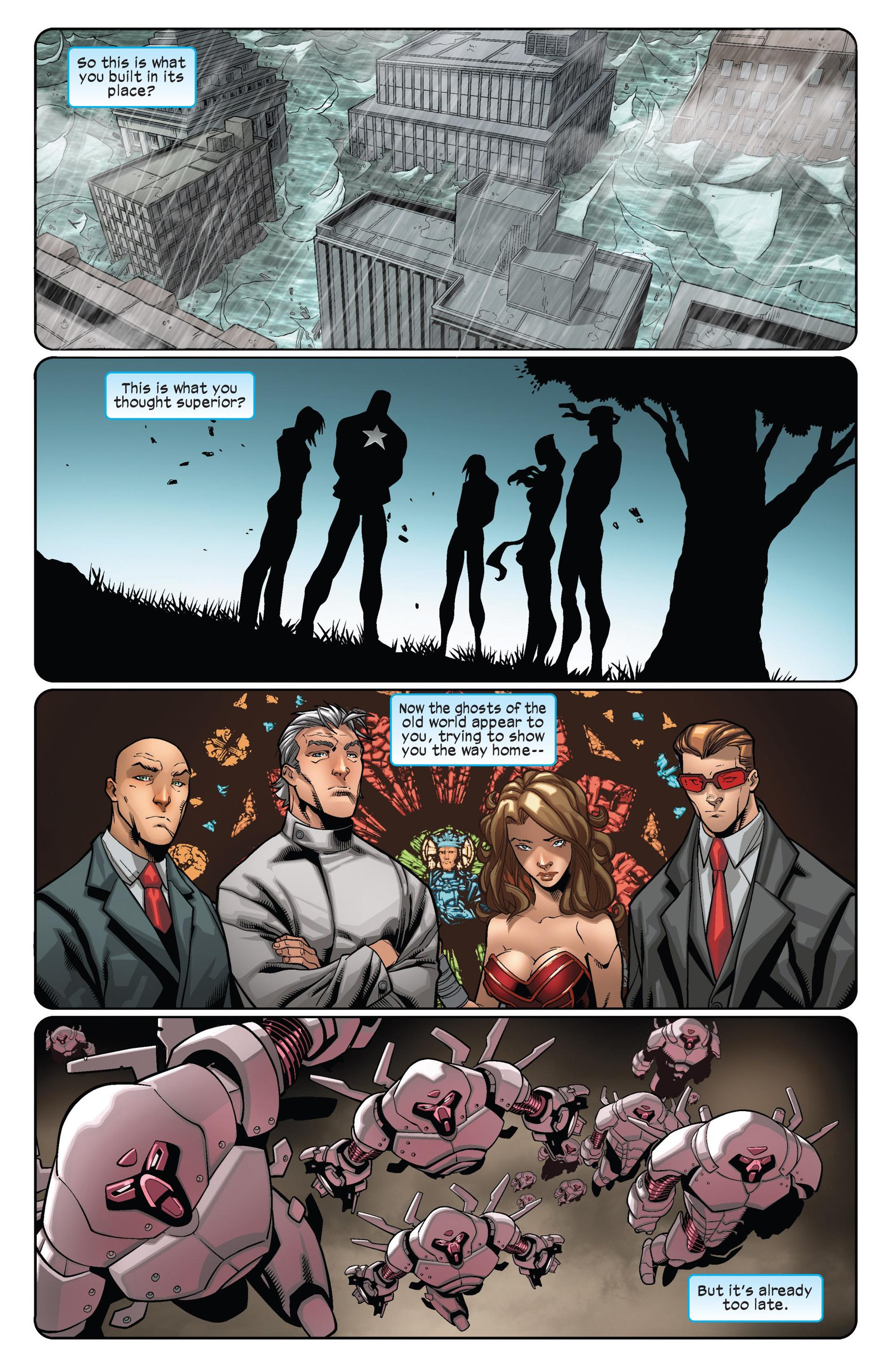 Read online Ultimate Comics X-Men comic -  Issue #12 - 18