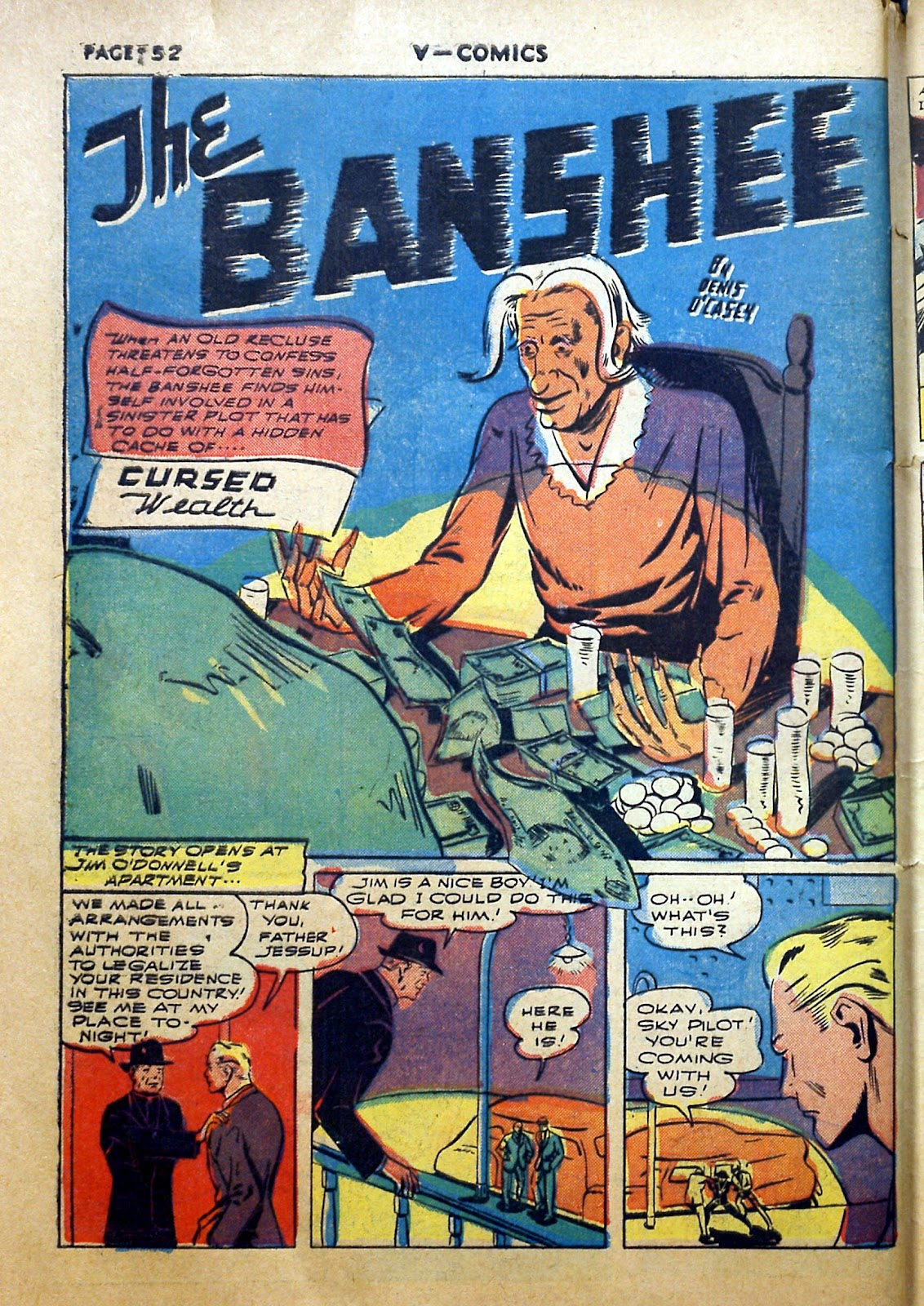Read online V...- Comics comic -  Issue #2 - 53