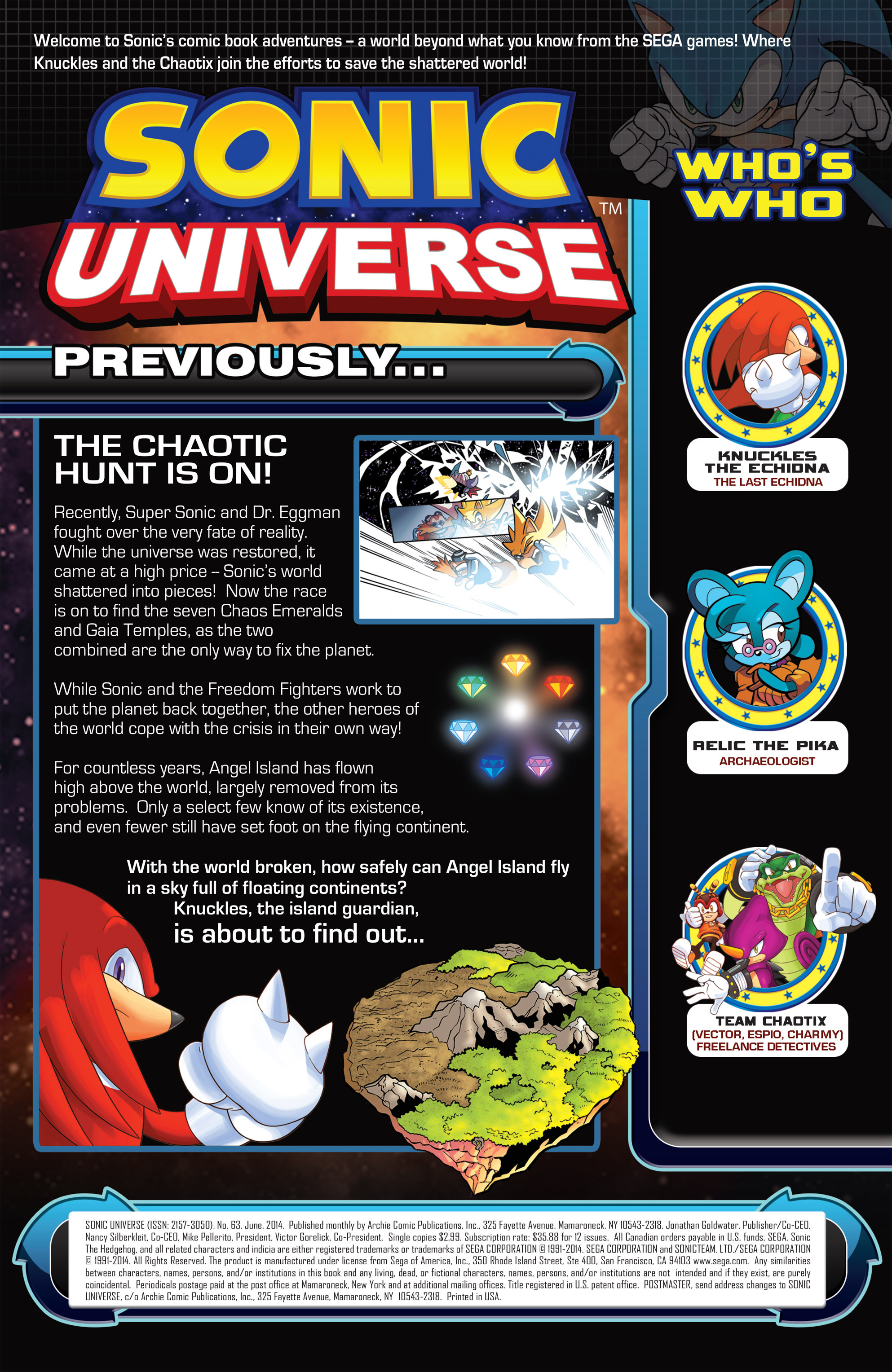 Read online Sonic Universe comic -  Issue #63 - 2