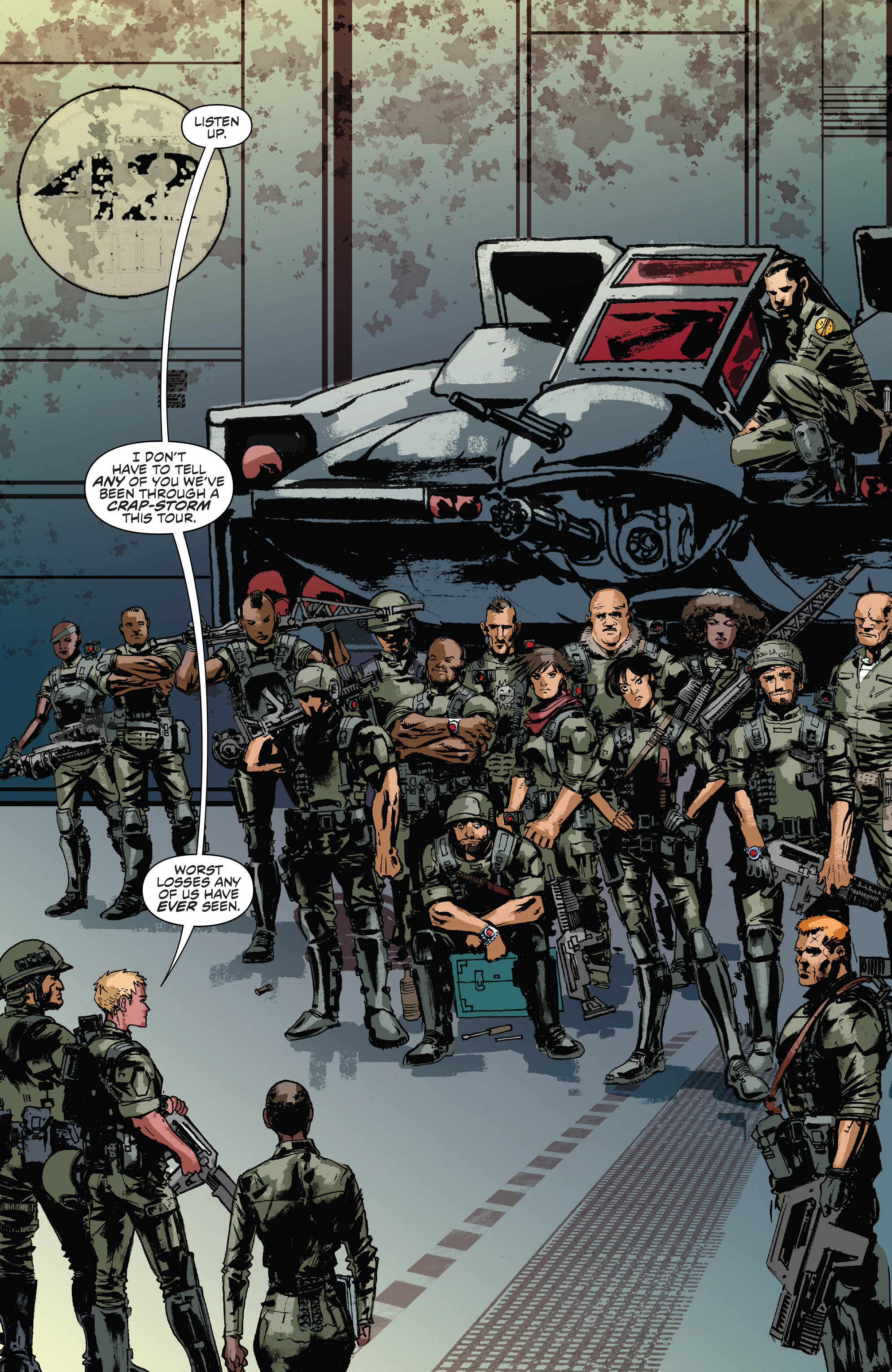 Read online Aliens: Life And Death comic -  Issue #2 - 6