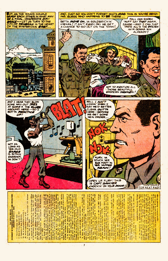 Read online Sgt. Fury comic -  Issue #146 - 9