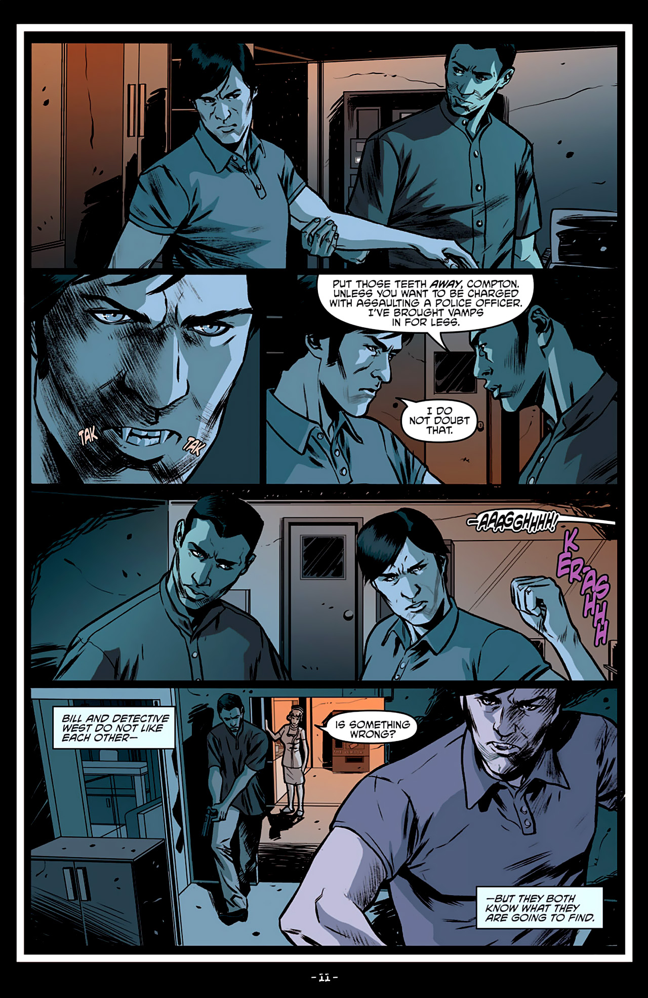 Read online True Blood: French Quarter comic -  Issue #3 - 16