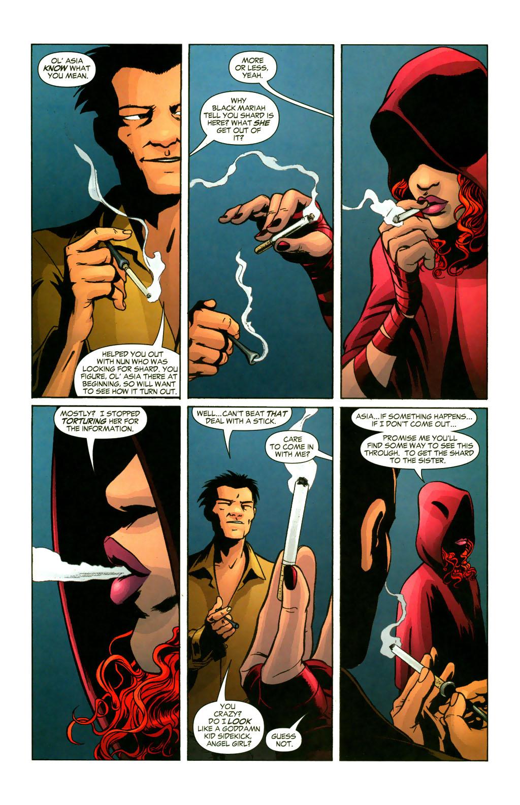 Read online Fallen Angel (2003) comic -  Issue #9 - 5
