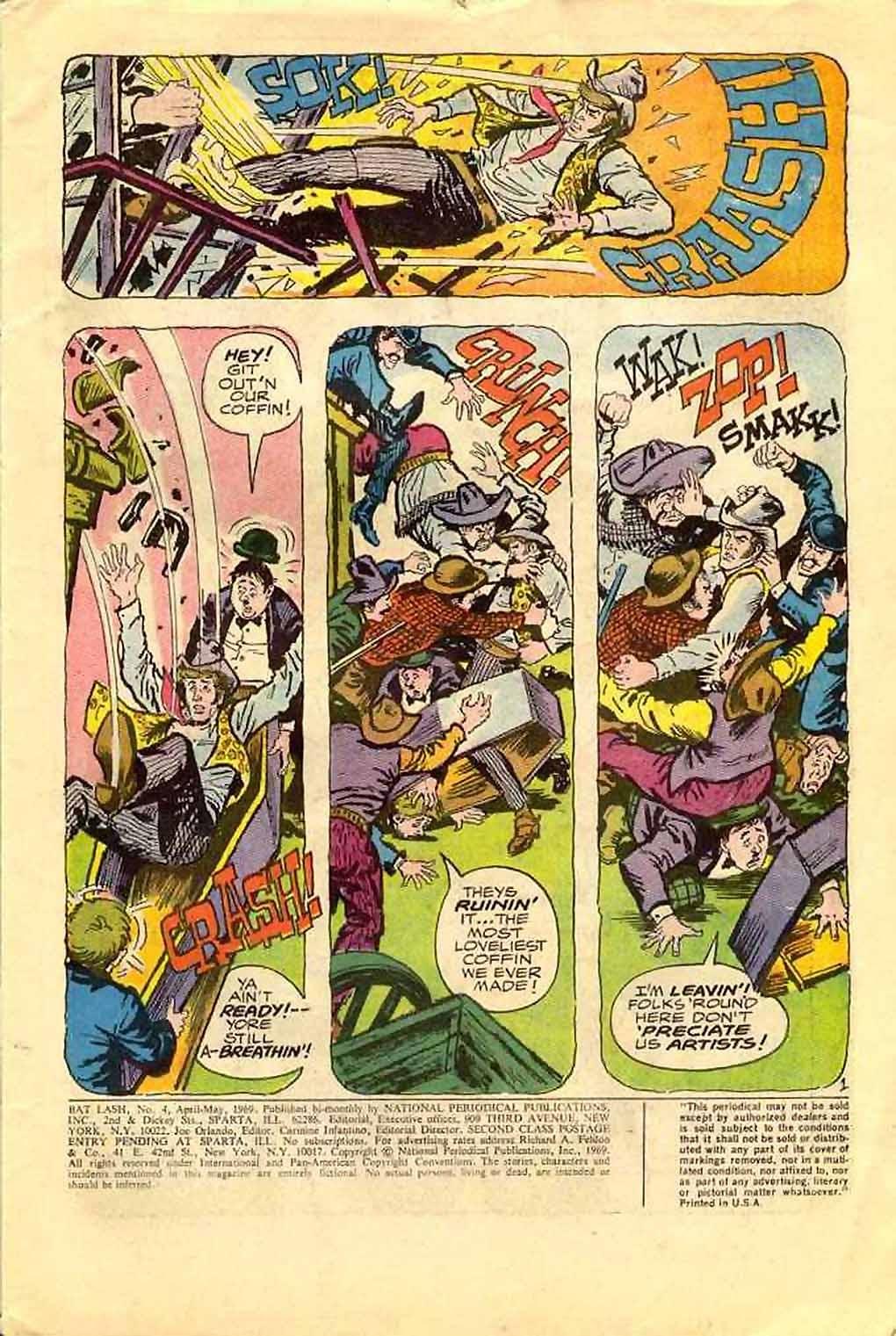 Bat Lash (1968) issue 4 - Page 3