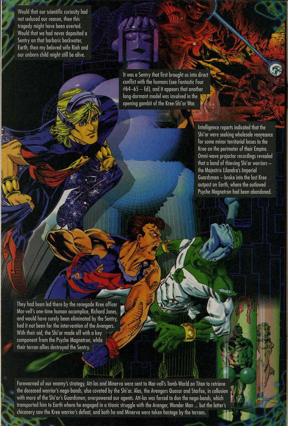 Read online Avengers Strike File comic -  Issue # Full - 9