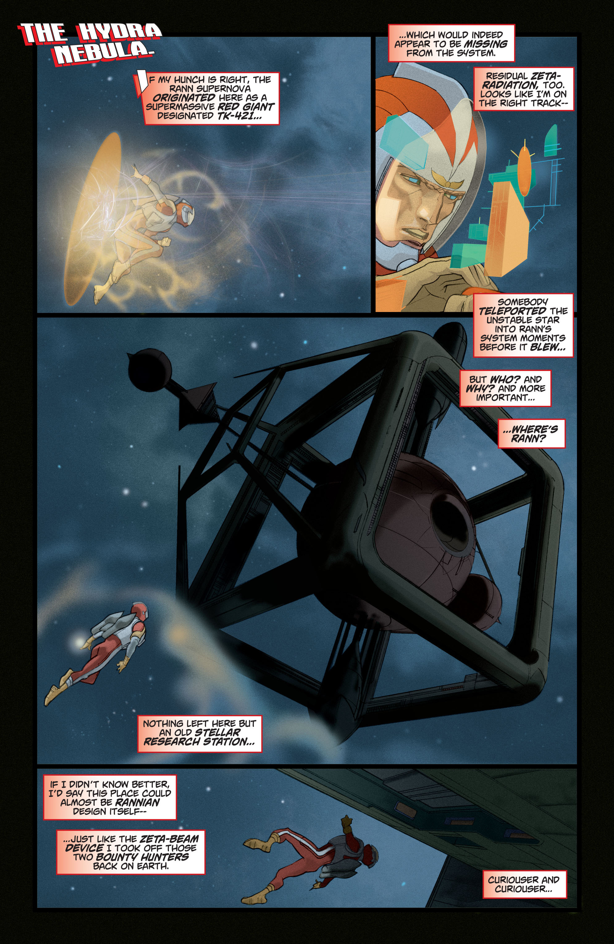 Read online Adam Strange (2004) comic -  Issue #4 - 6