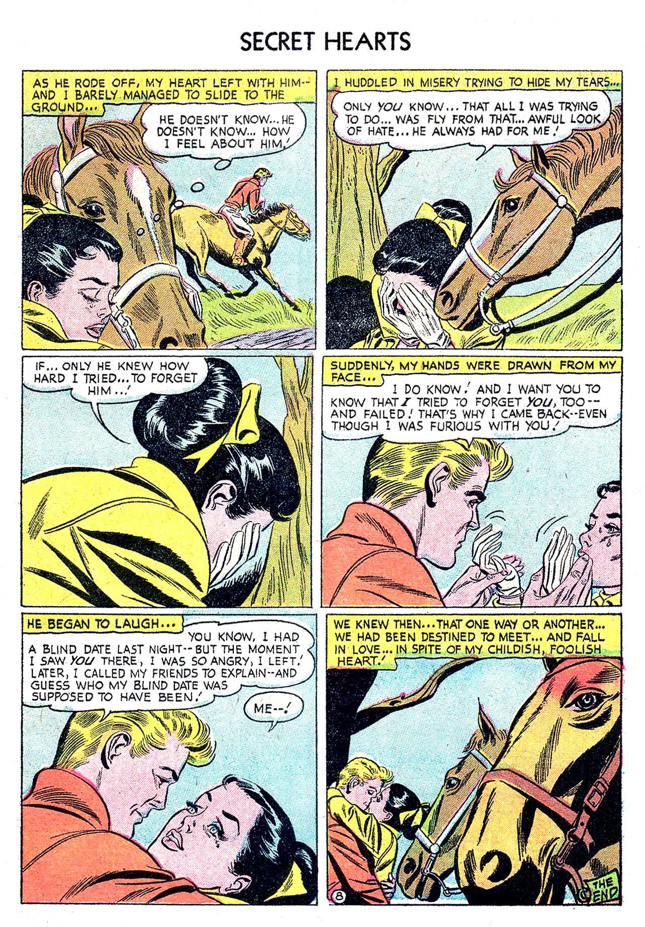Read online Secret Hearts comic -  Issue #32 - 33
