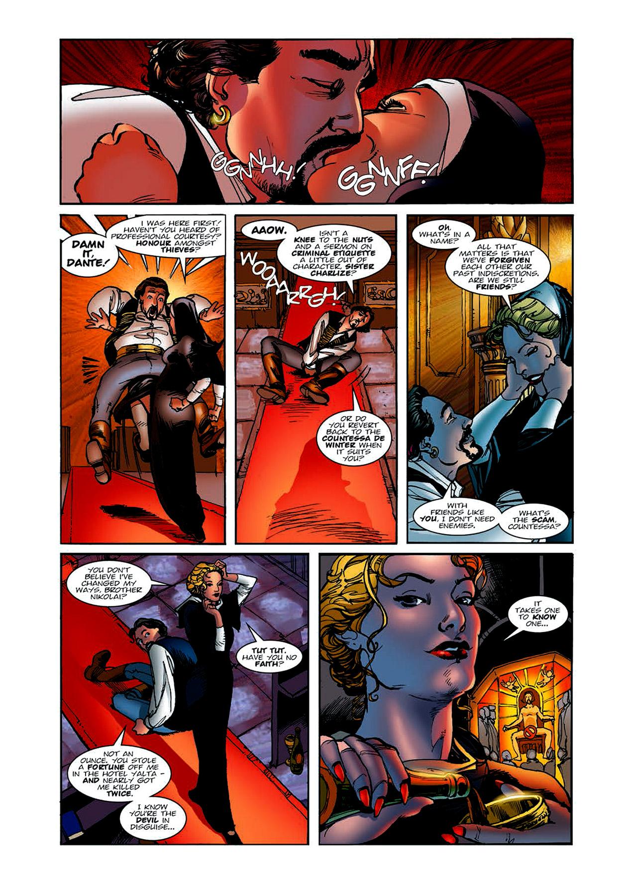 Read online Nikolai Dante comic -  Issue # TPB 6 - 19