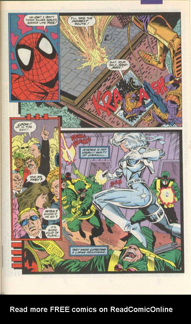 Read online Silver Sable and the Wild Pack comic -  Issue #1 - 18