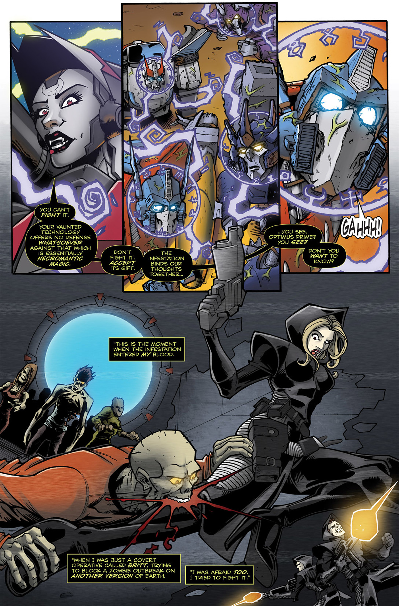 Read online Transformers: Infestation comic -  Issue #2 - 6