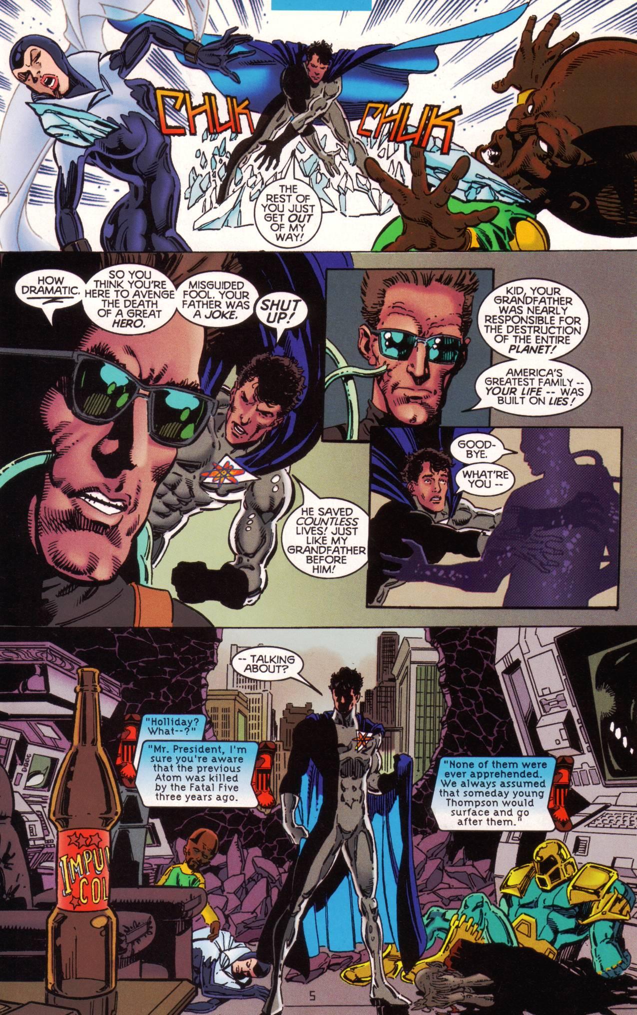 Read online Tangent Comics/ The Atom comic -  Issue # Full - 6