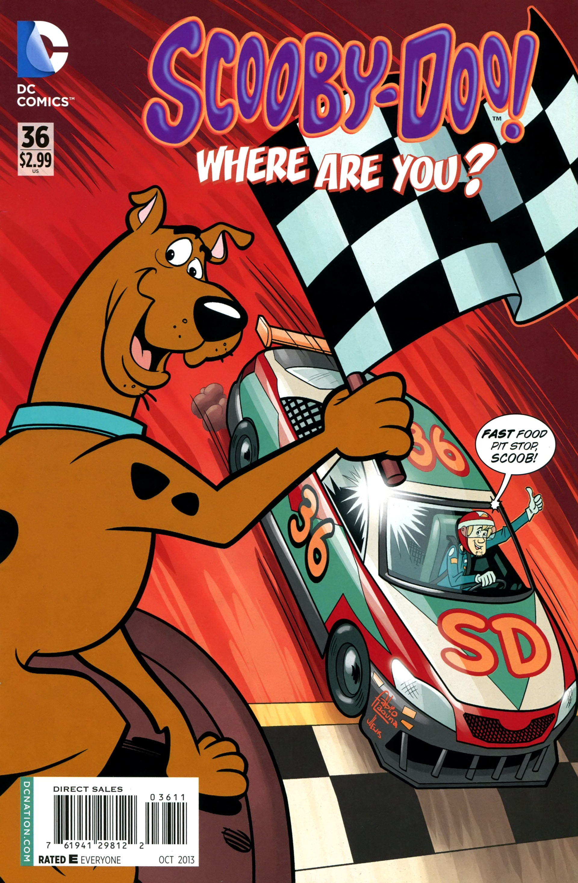 Read online Scooby-Doo: Where Are You? comic -  Issue #36 - 1