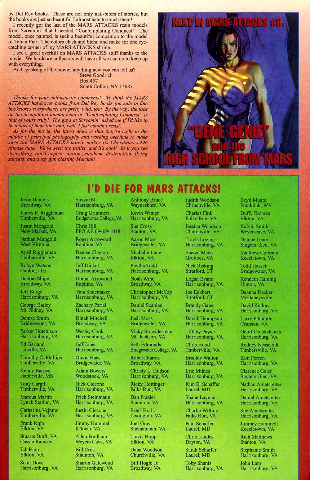 Read online Mars Attacks Baseball Special comic -  Issue # Full - 26