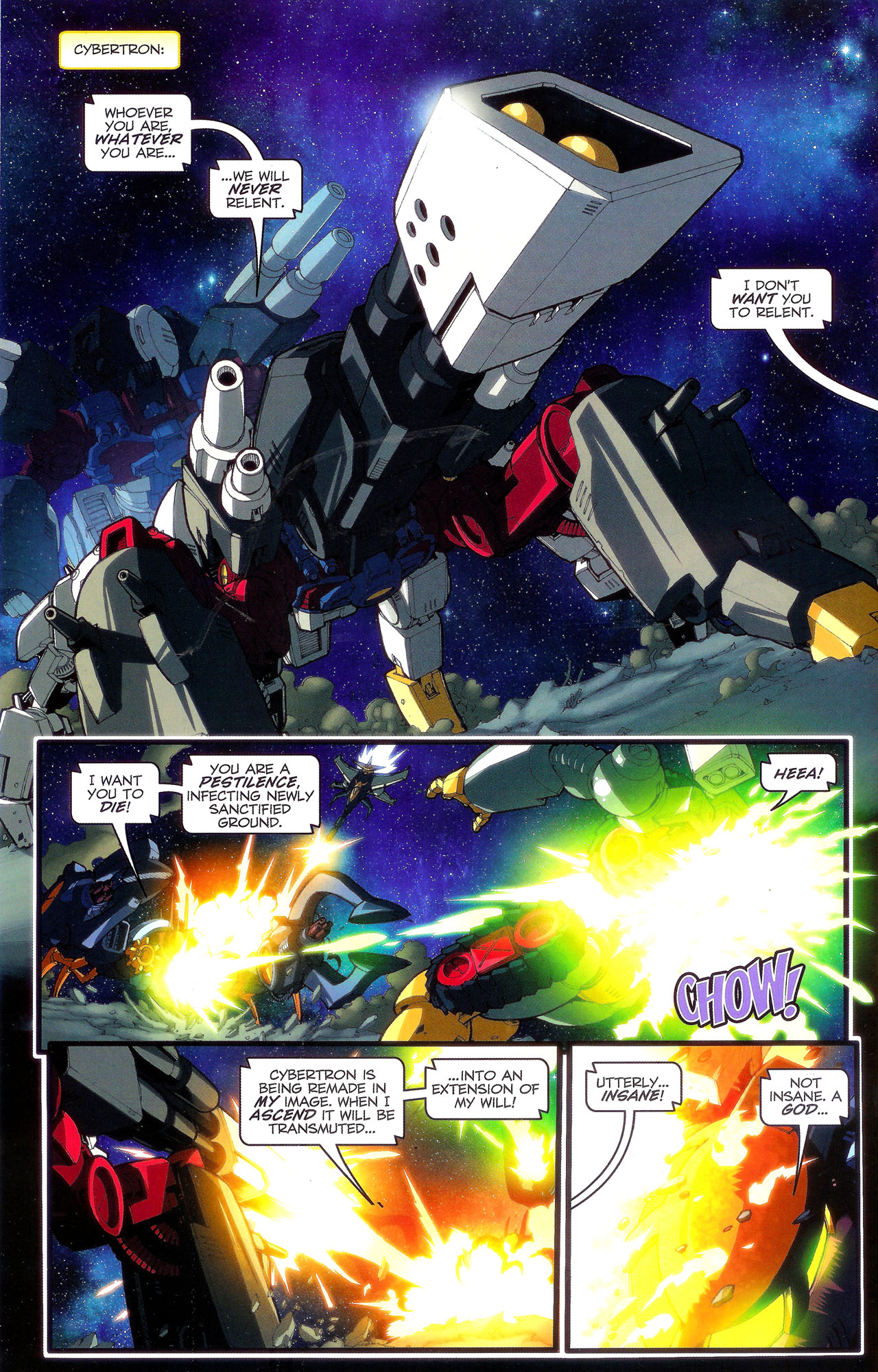 Read online Transformers: Beast Wars: The Ascending comic -  Issue #3 - 11