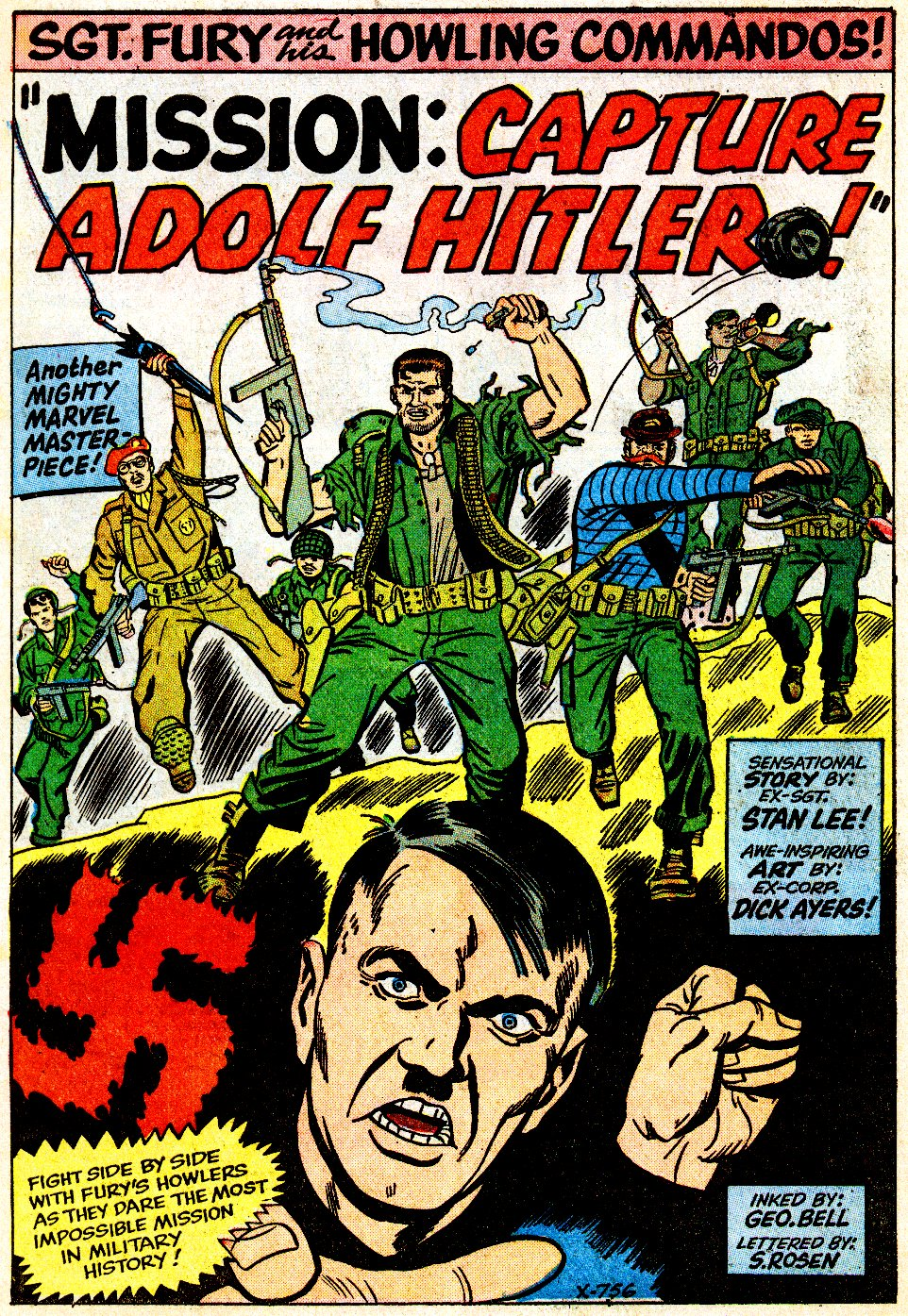 Read online Sgt. Fury comic -  Issue #9 - 3