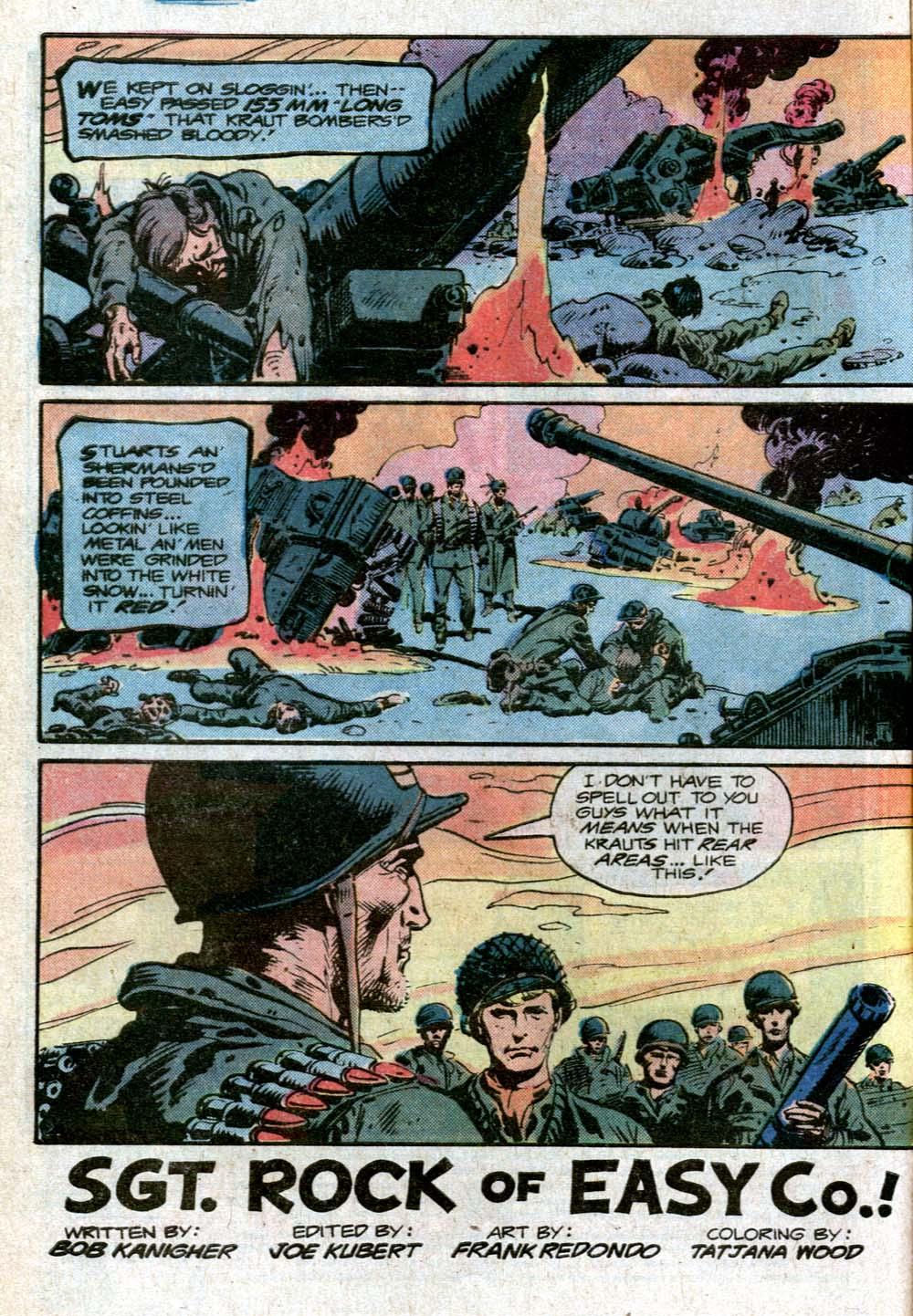 Read online Sgt. Rock comic -  Issue #352 - 3