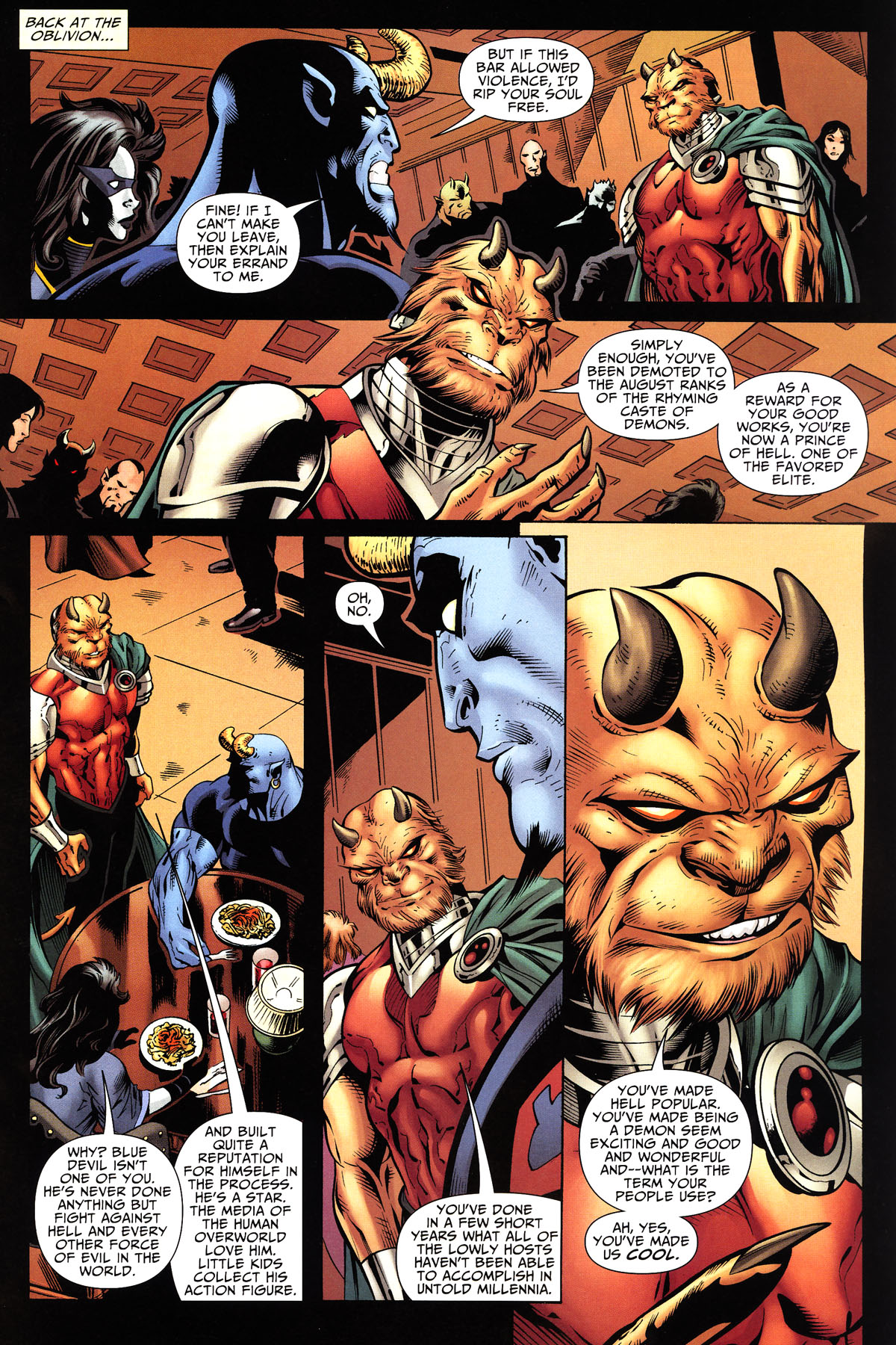 Read online Shadowpact comic -  Issue #10 - 14