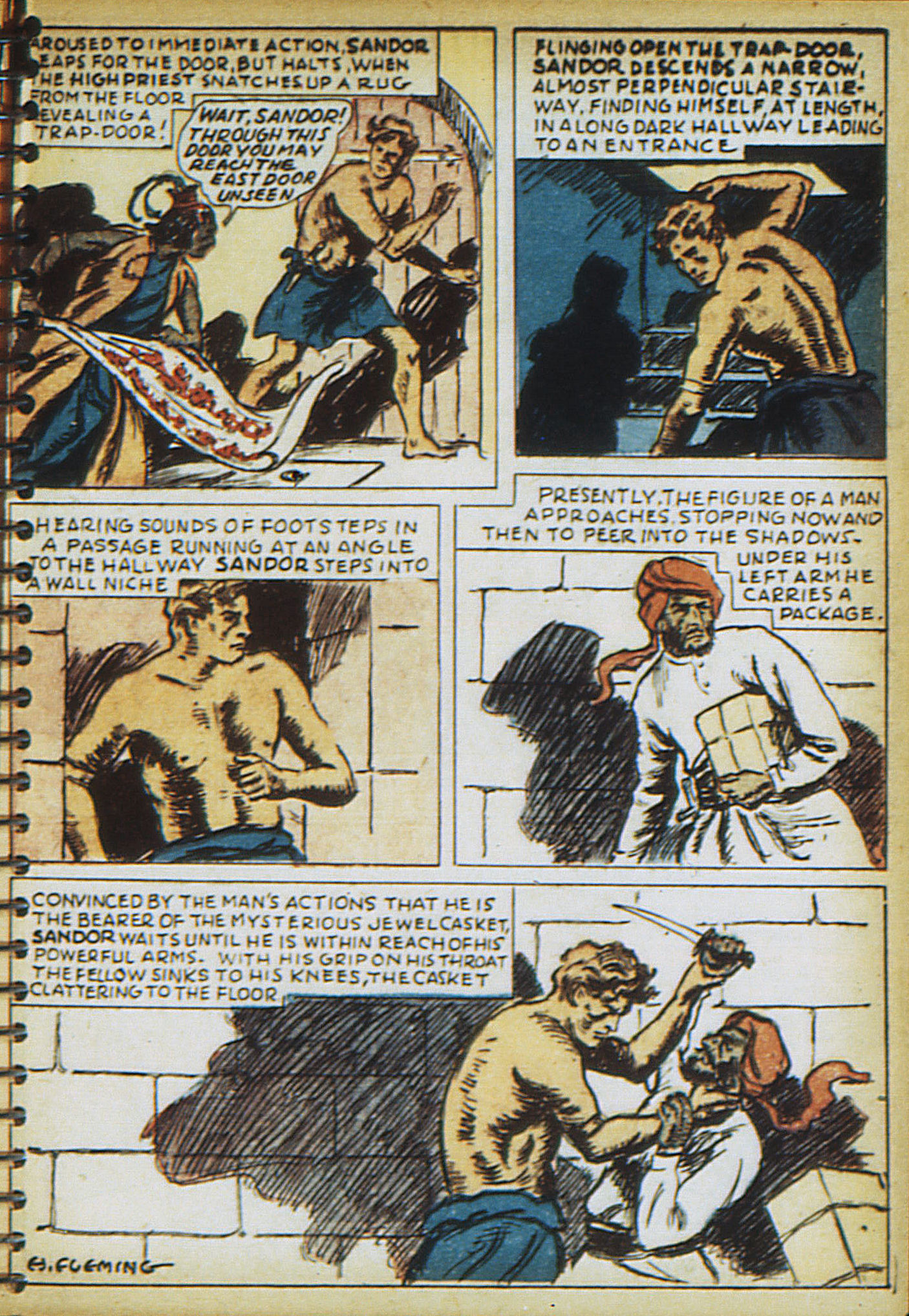 Read online Adventure Comics (1938) comic -  Issue #17 - 54