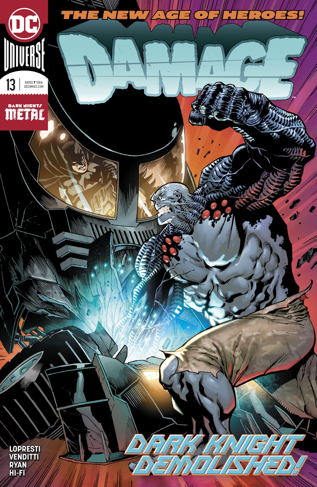 Read online Damage (2018) comic -  Issue #13 - 1