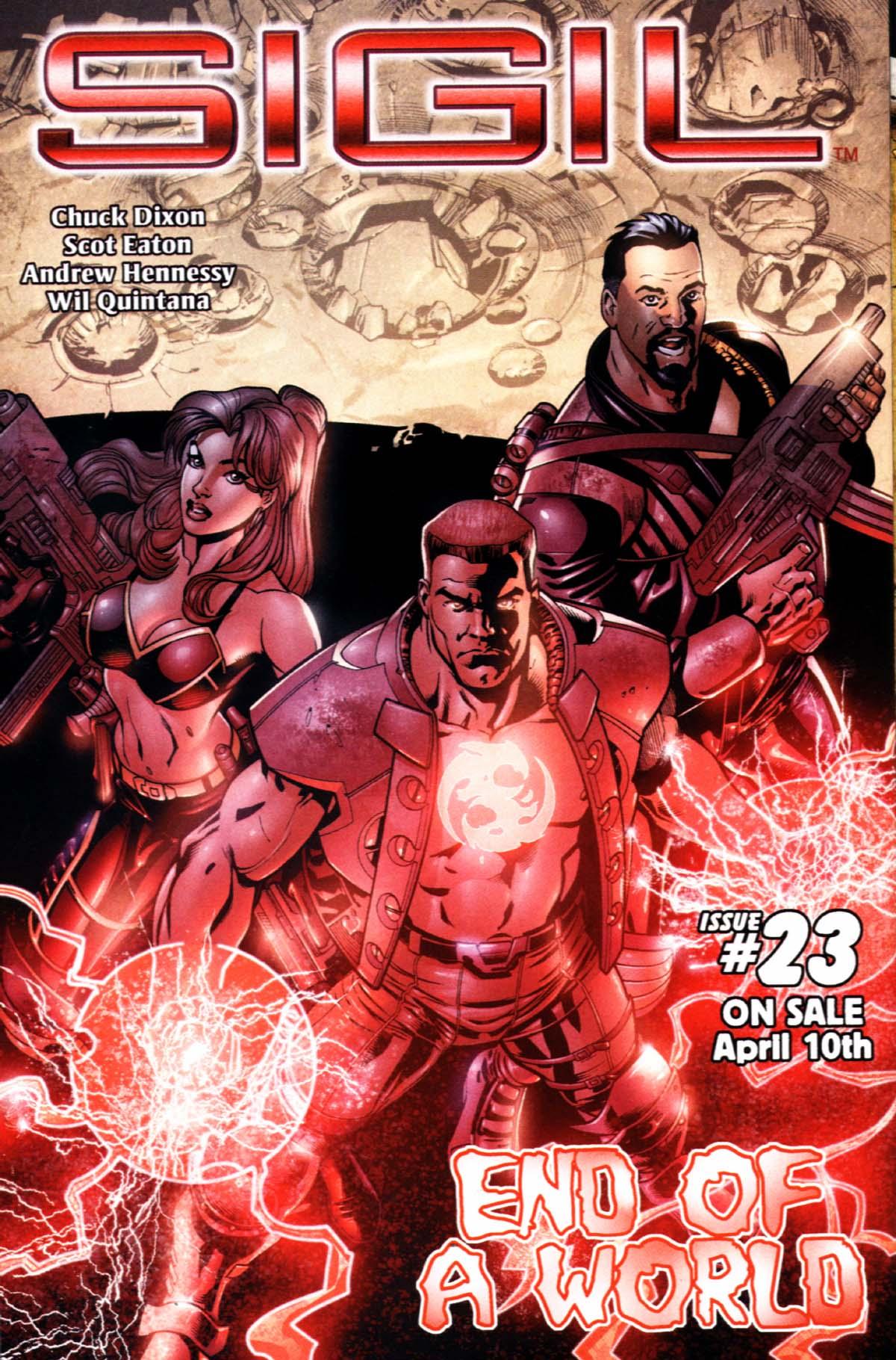 Read online Sigil (2000) comic -  Issue #22 - 30