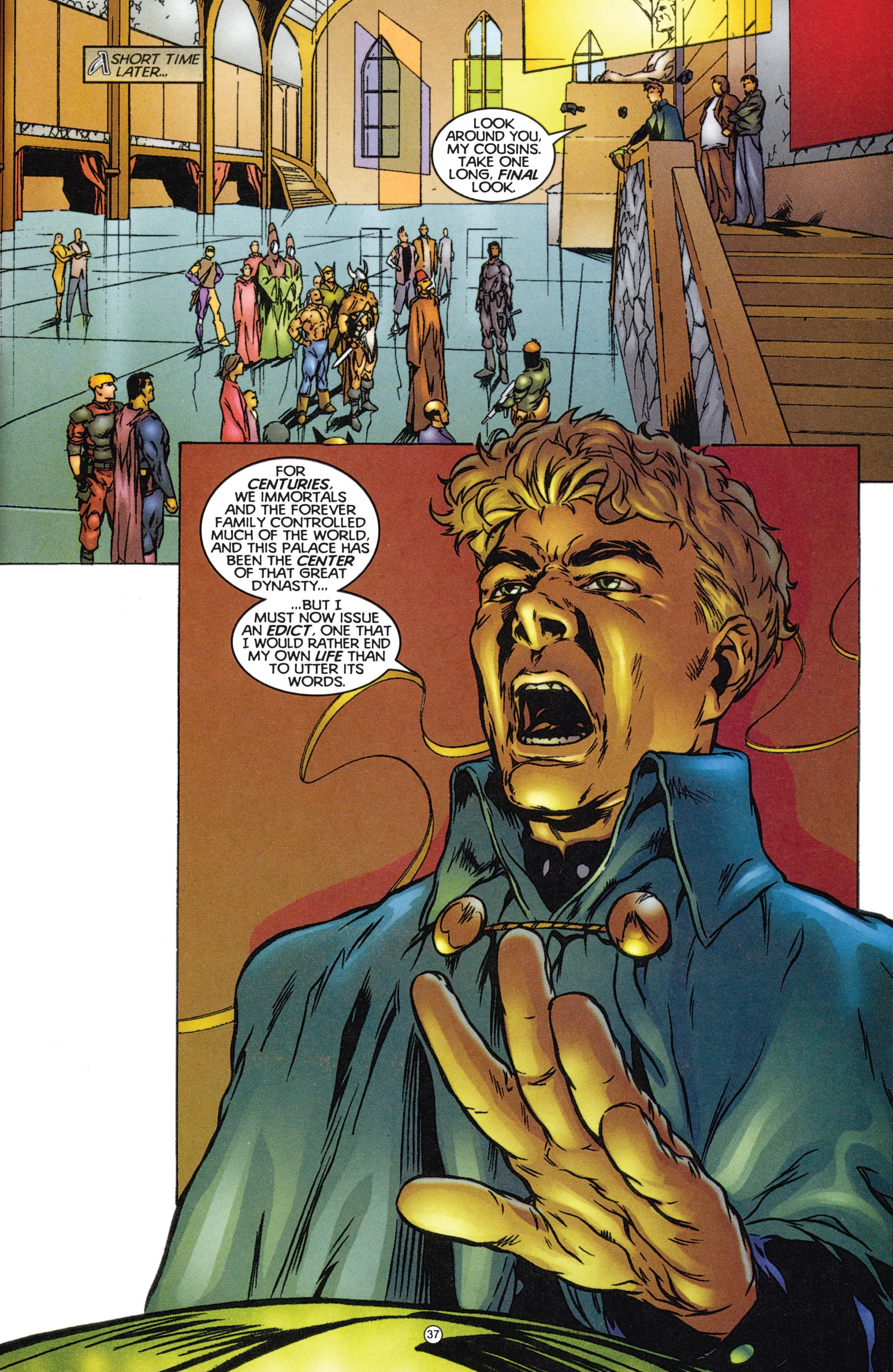 Read online Eternal Warriors comic -  Issue # Issue The Immortal Enemy - 34