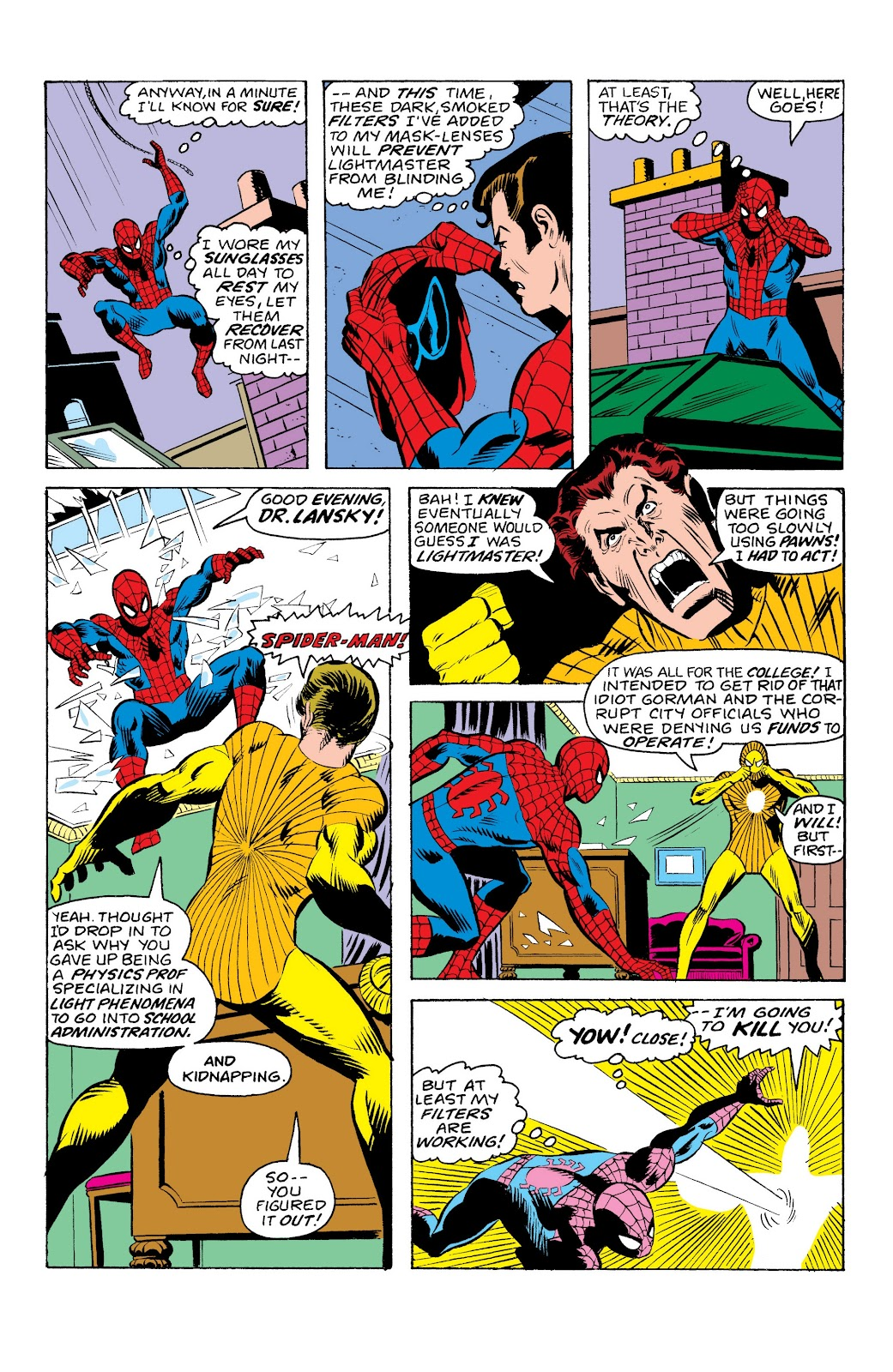 Read online Marvel Masterworks: The Spectacular Spider-Man comic -  Issue # TPB (Part 1) - 57