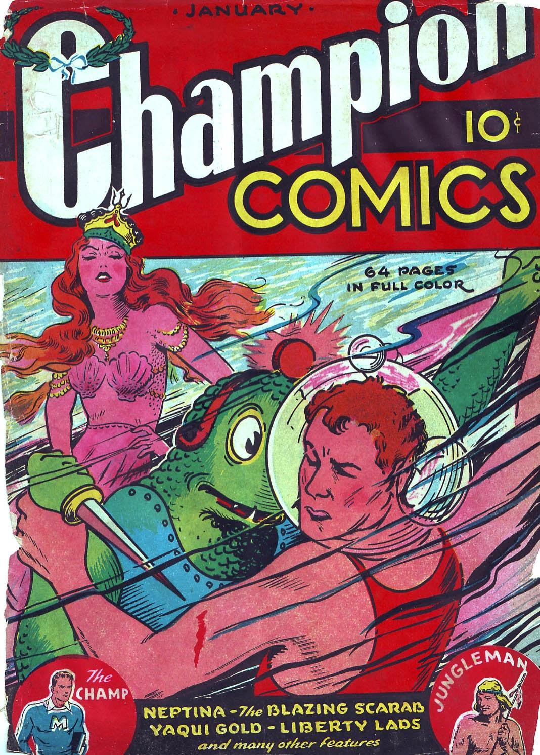 Champion Comics issue 3 - Page 1