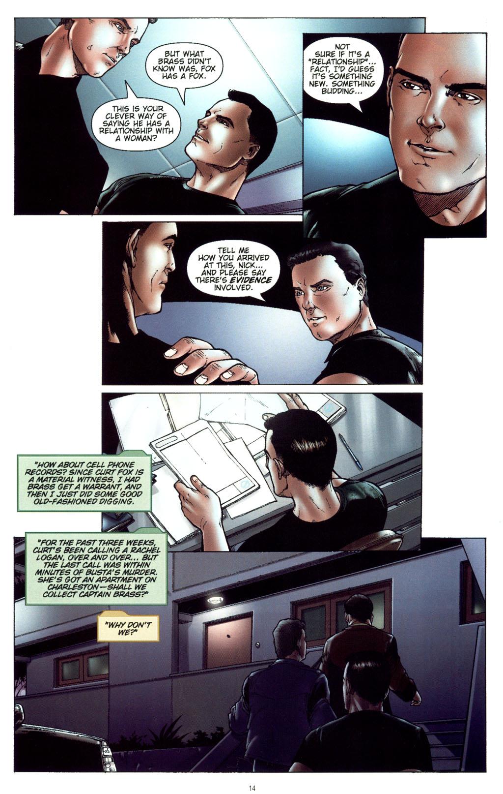 Read online CSI: Crime Scene Investigation: Bad Rap comic -  Issue #5 - 17