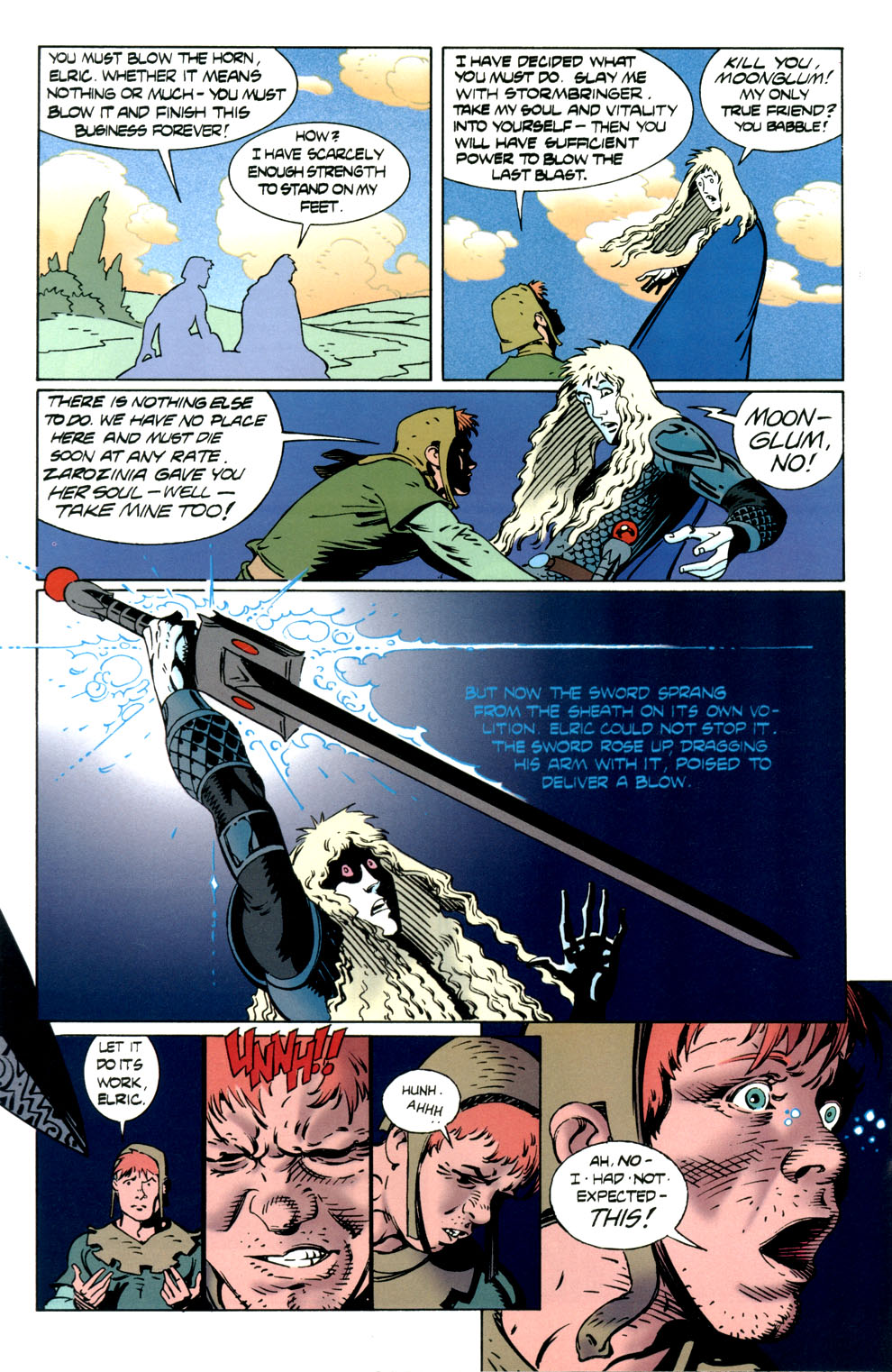 Read online Elric: Stormbringer comic -  Issue #7 - 24