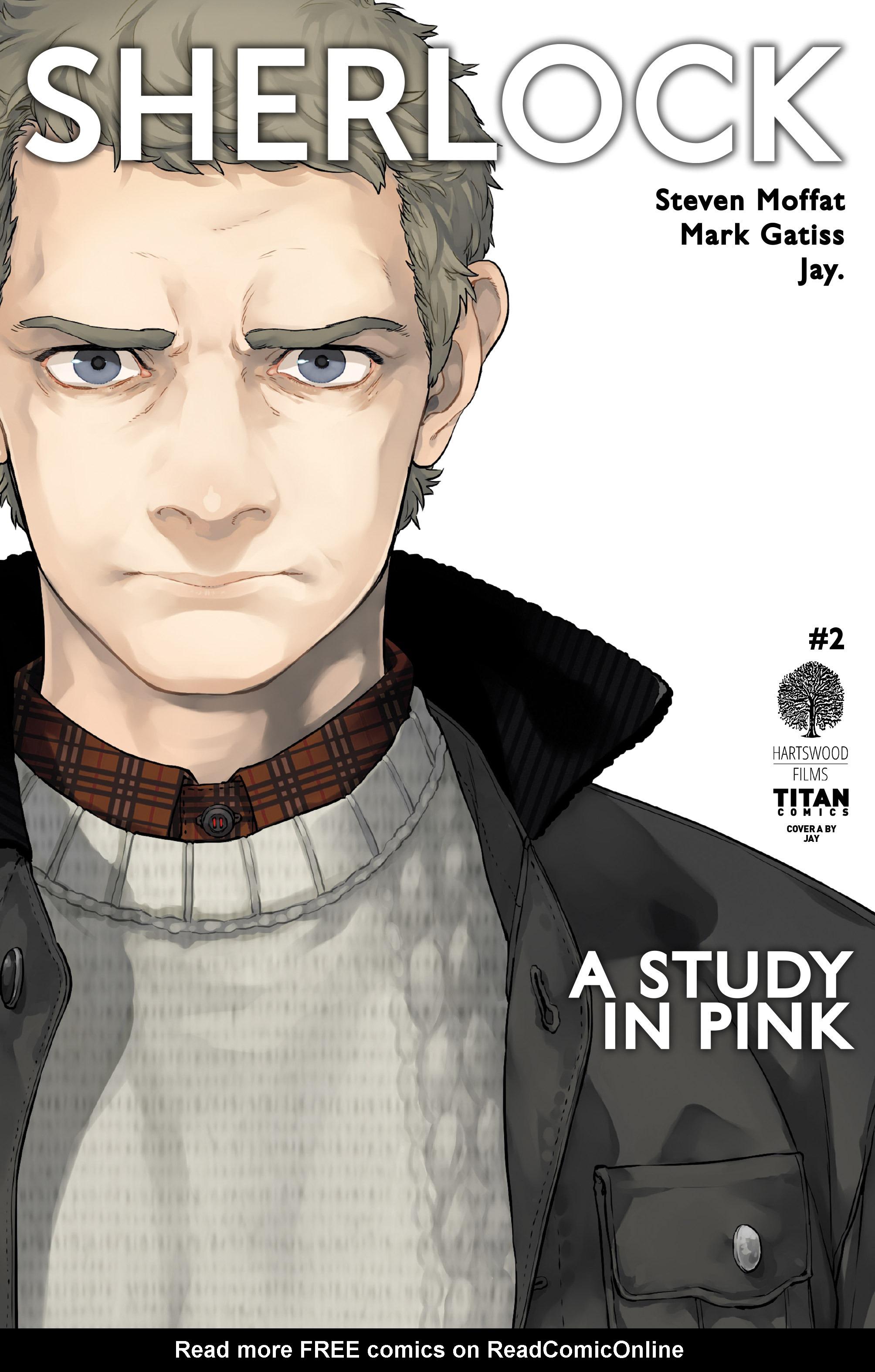 Read online Sherlock: A Study In Pink comic -  Issue #2 - 1