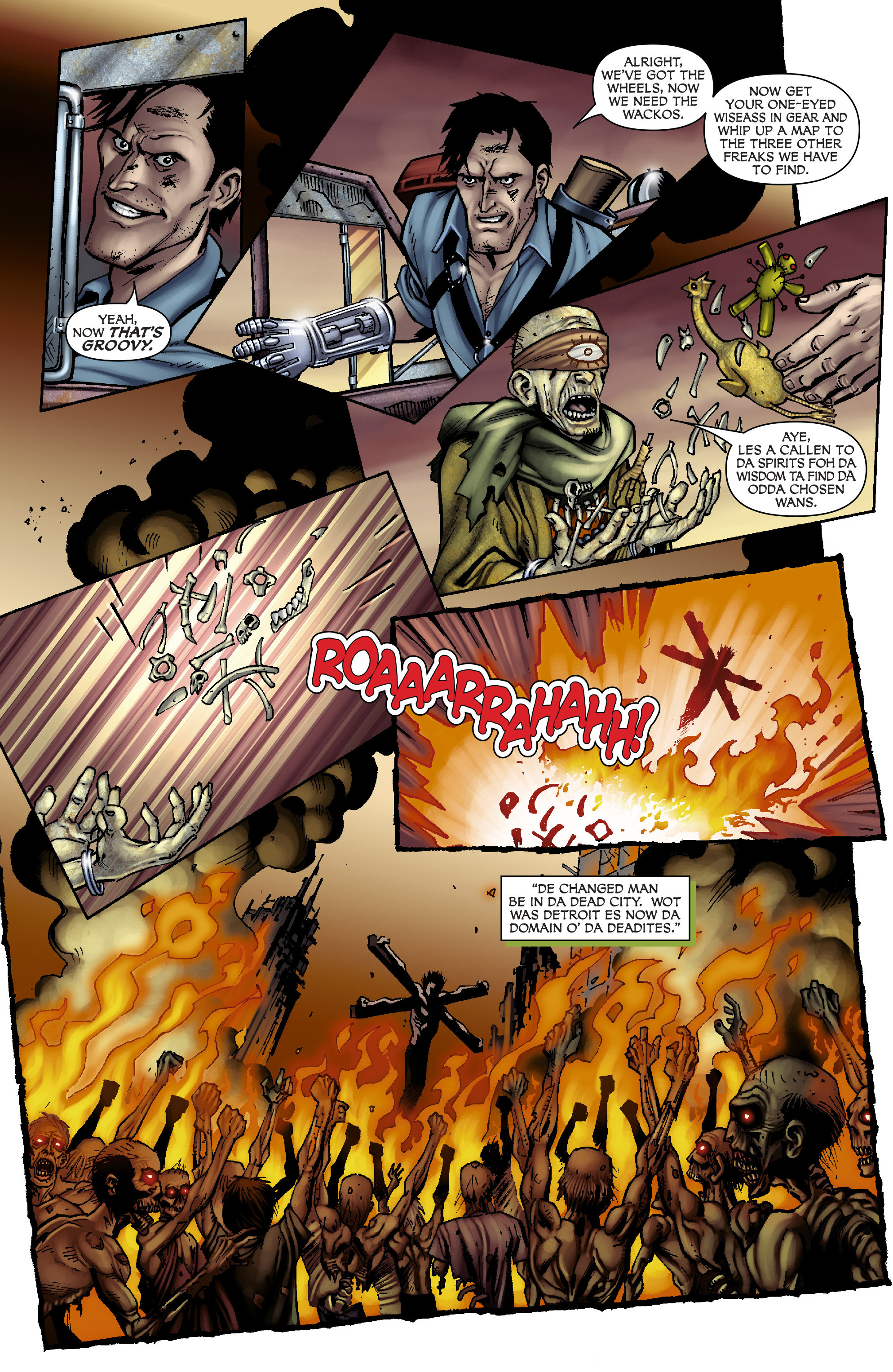 Read online Army of Darkness: From the Ashes comic -  Issue #Army of Darkness: From the Ashes TPB - 33