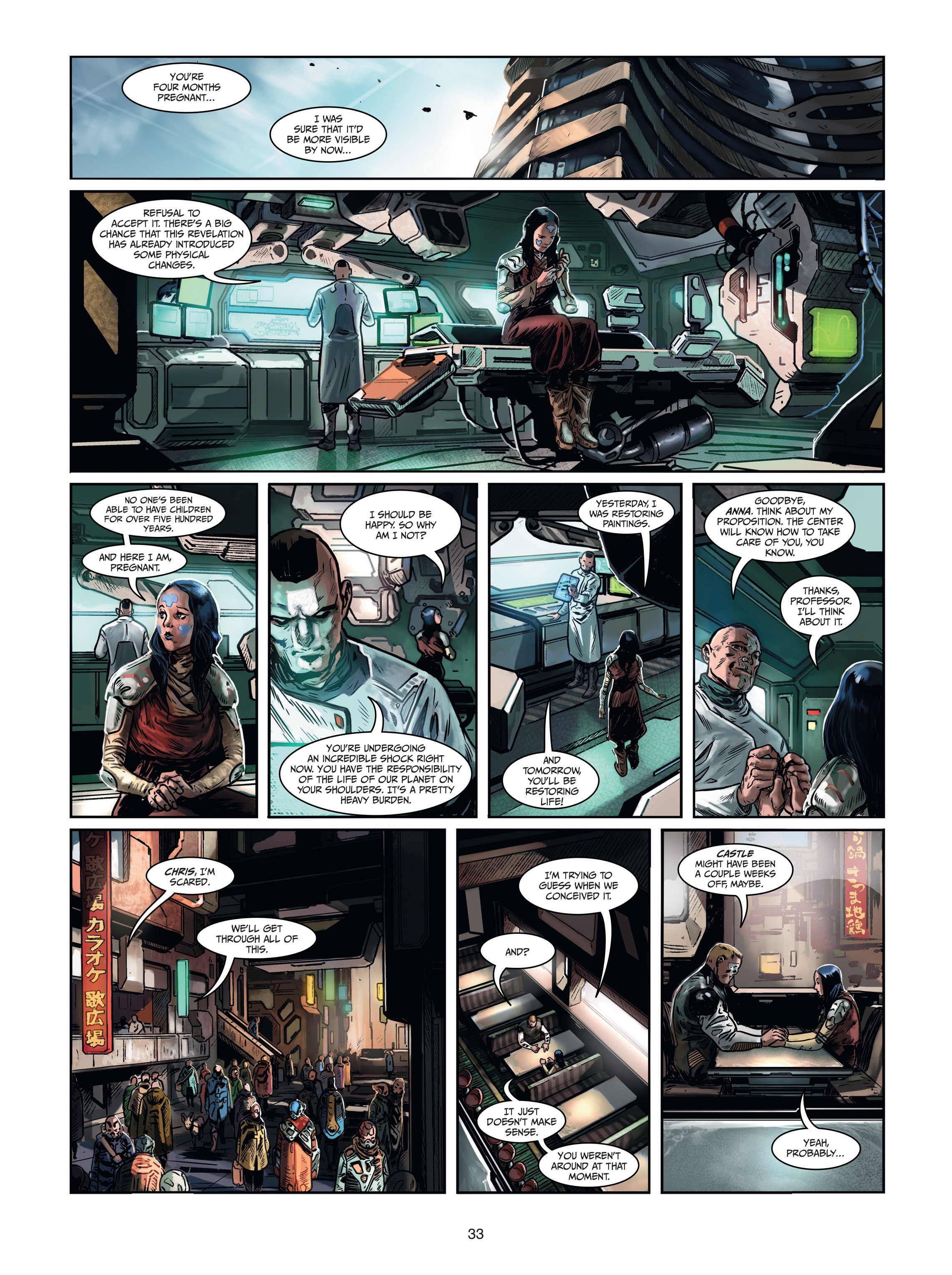 Read online Androïds comic -  Issue #1 - 31