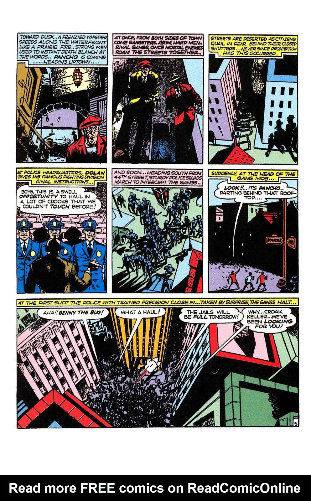 Read online Will Eisner's The Spirit Archives comic -  Issue # TPB 2 (Part 1) - 21