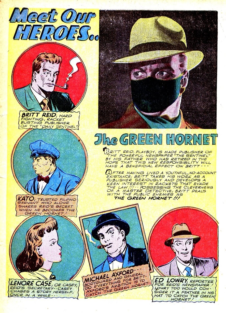 Green Hornet Comics issue 7 - Page 3